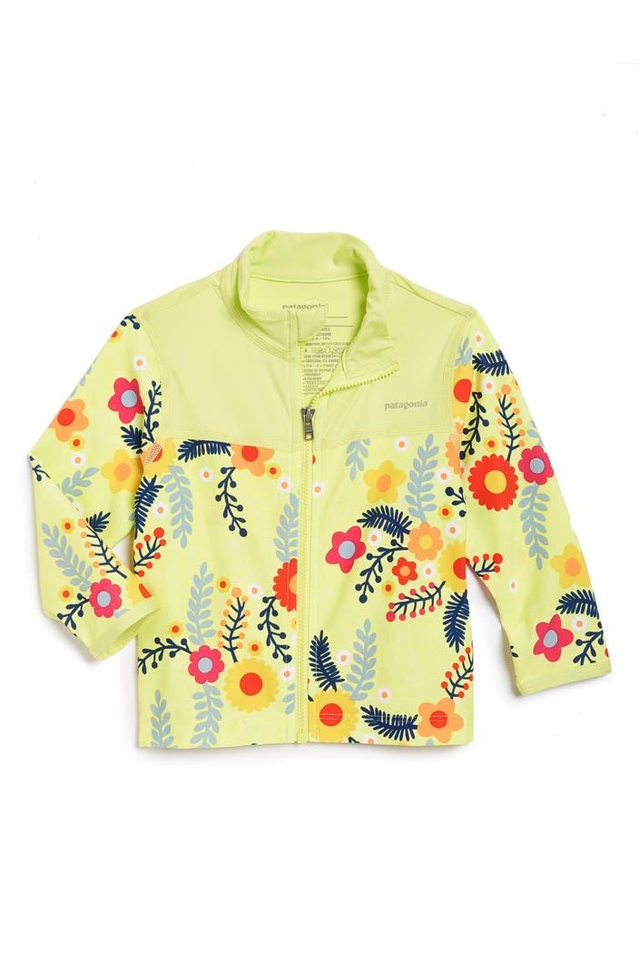 Patagonia Little Sol Rashguard Jacket Baby Girls