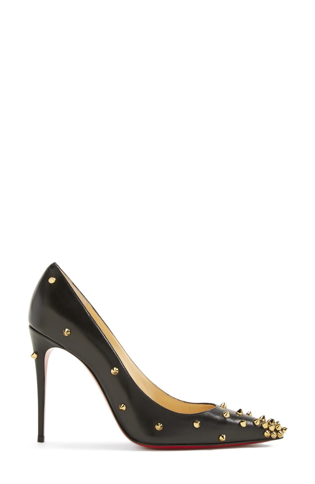 Alternate Image 4  - Christian Louboutin 'Spike' Pointy Toe Pump