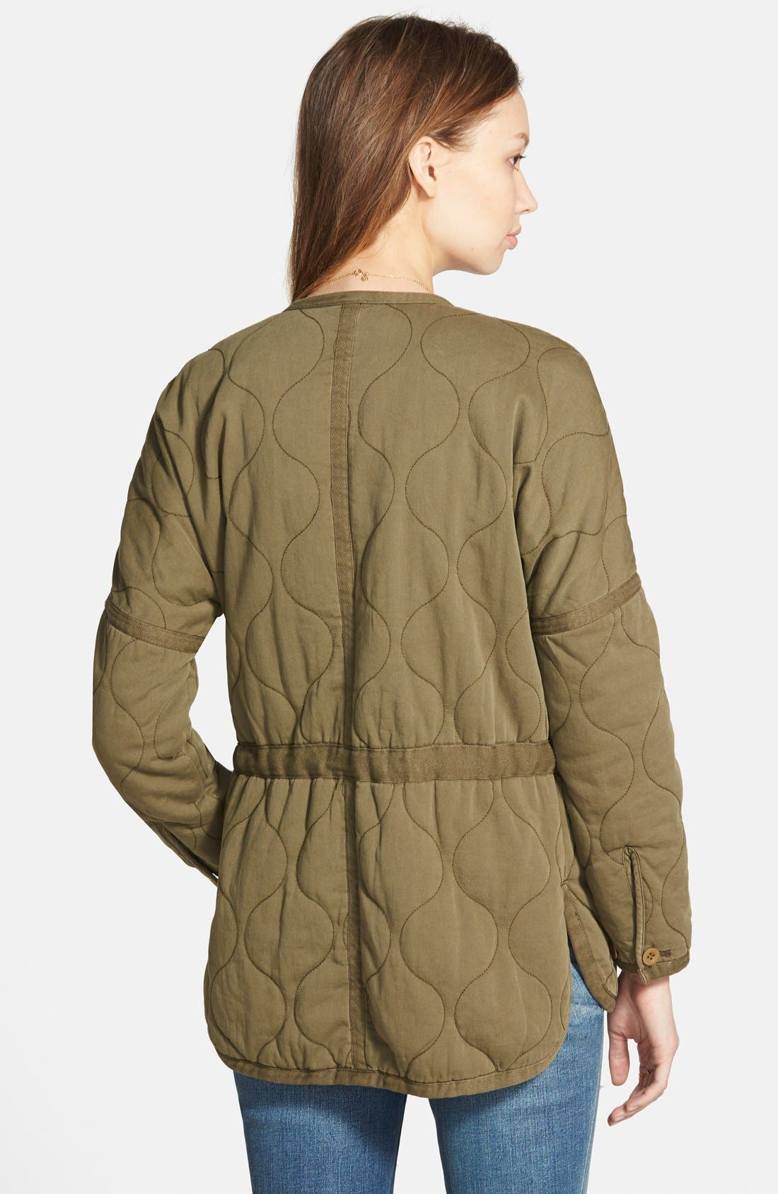 Alternate Image 2  - Madewell Quilted Drawstring Jacket