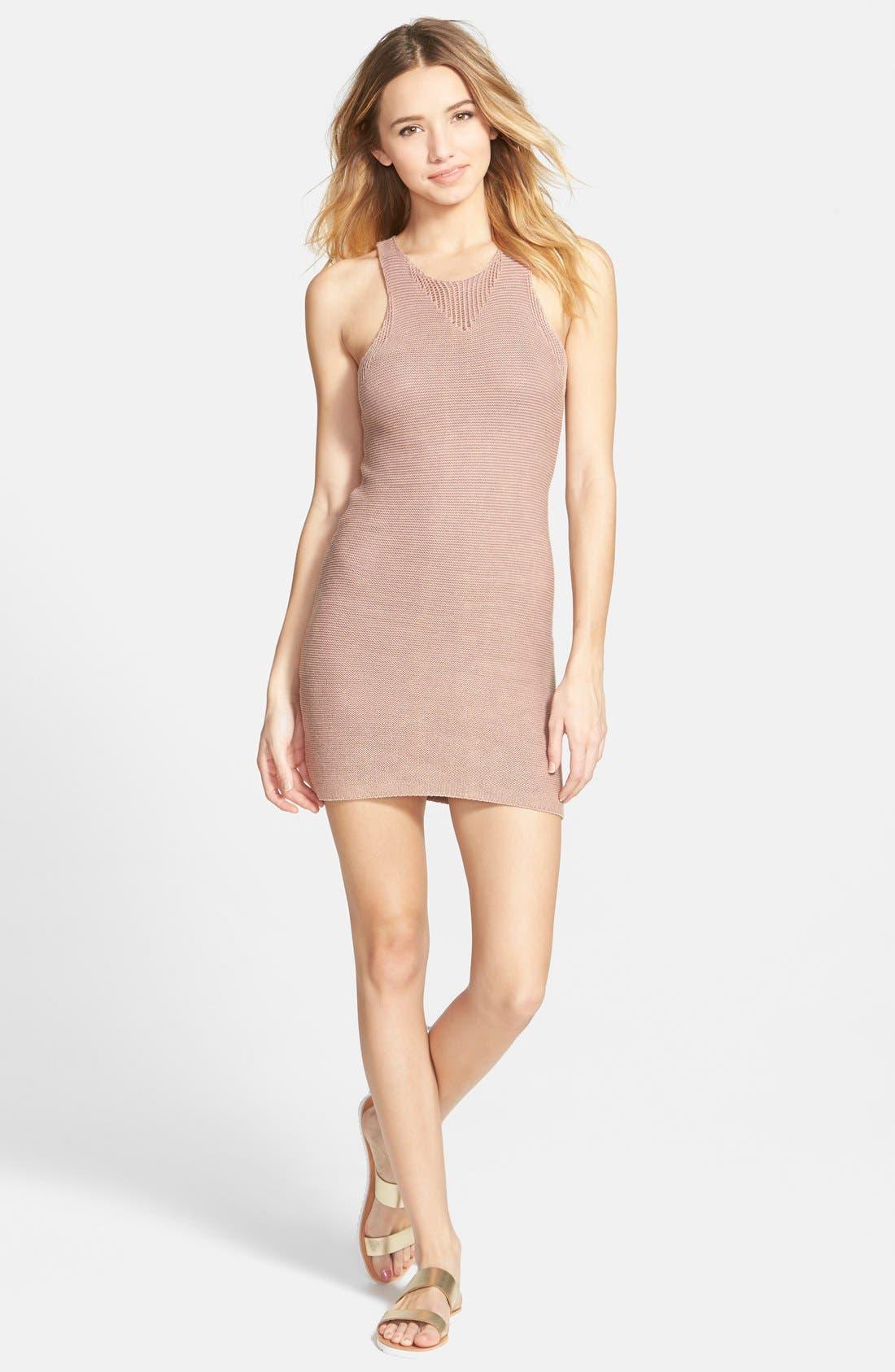 Alternate Image 1 Selected - RVCA 'Camino Cruisin' Knit Dress