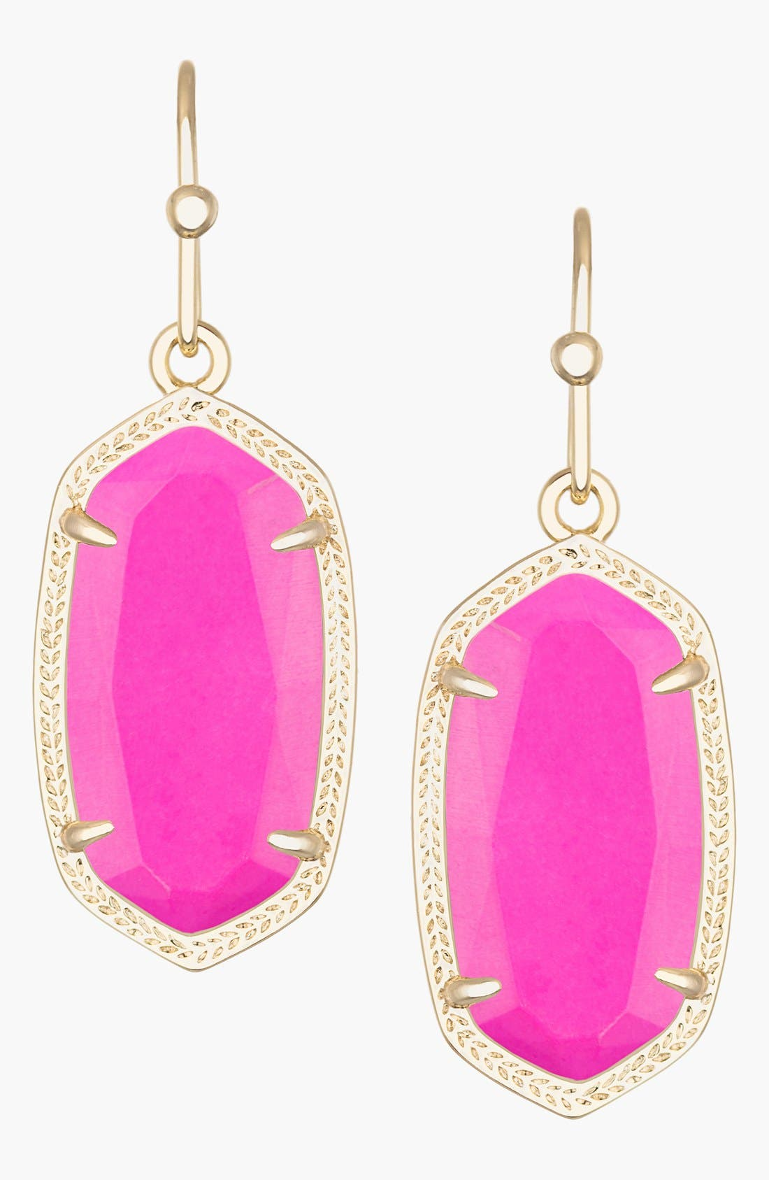Alternate Image 1 Selected - Kendra Scott Dani Stone Drop Earrings