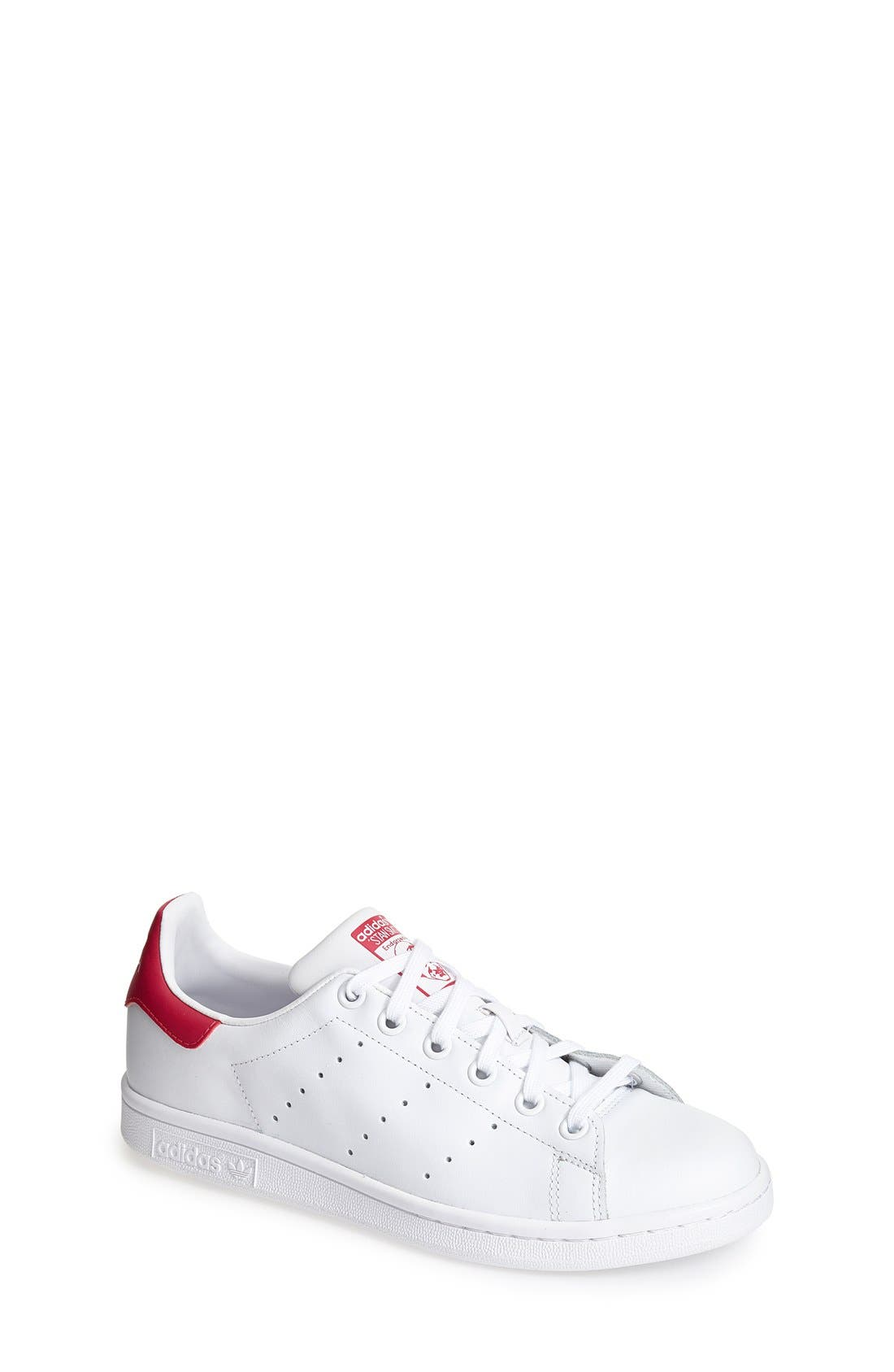adidas 'Stan Smith' Leather Sneaker (Big Kid)