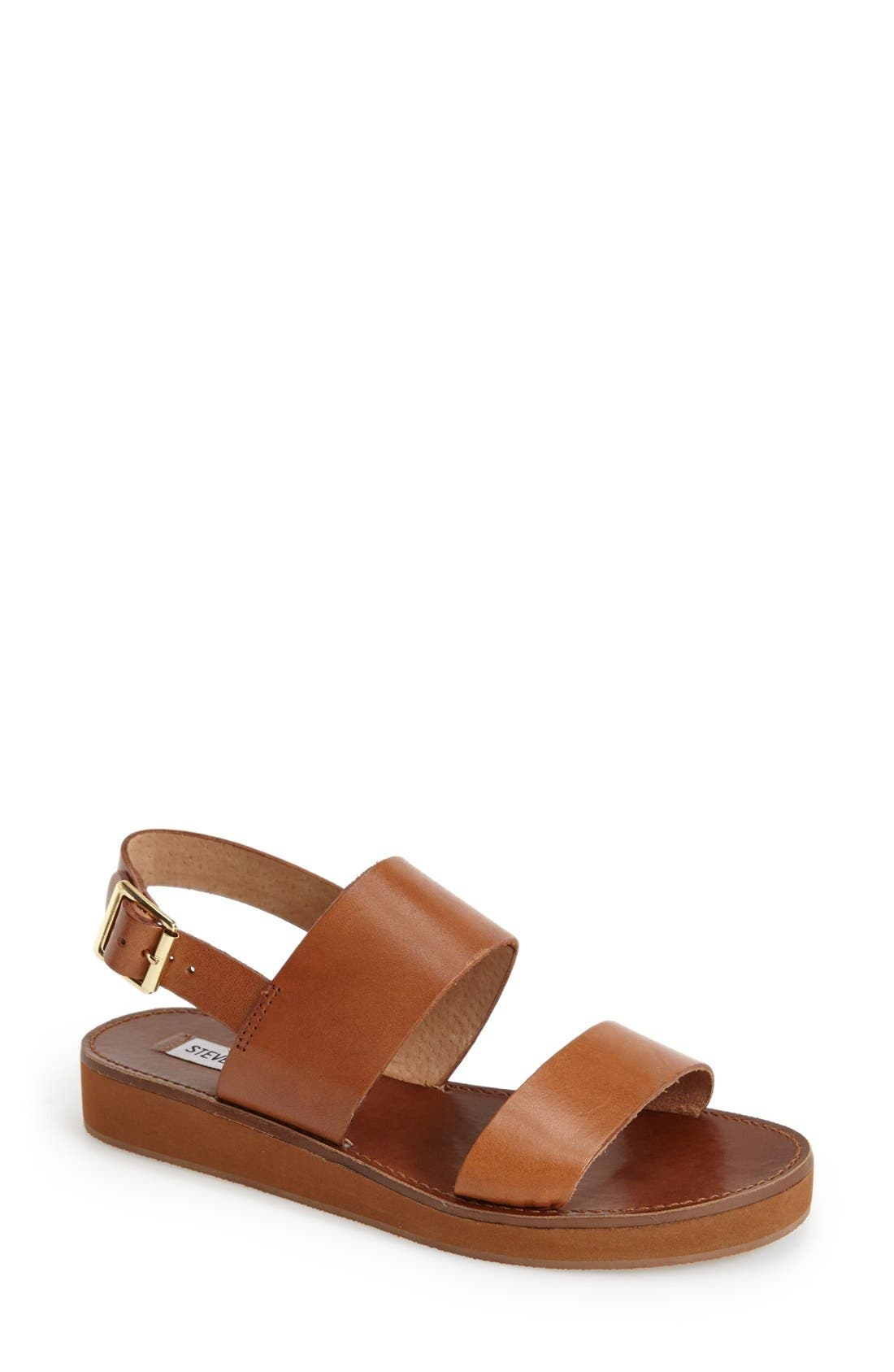 Alternate Image 1 Selected - Steve Madden 'Orka' Ankle Strap Sandal (Women)