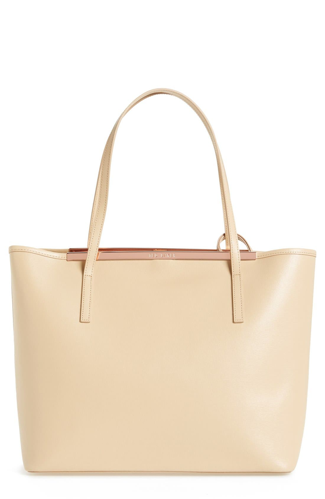 Alternate Image 1 Selected - Ted Baker London 'Isbell' Leather Tote