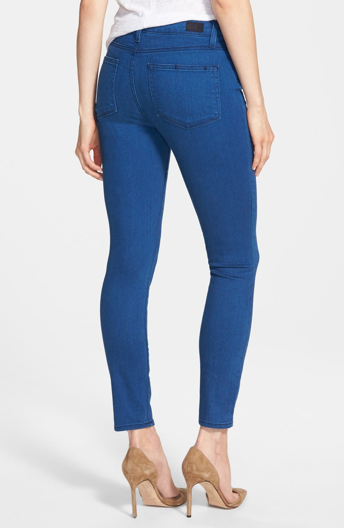 Alternate Image 2  - Paige Denim 'Hoxton' Ankle Skinny Jeans (Frenchie)