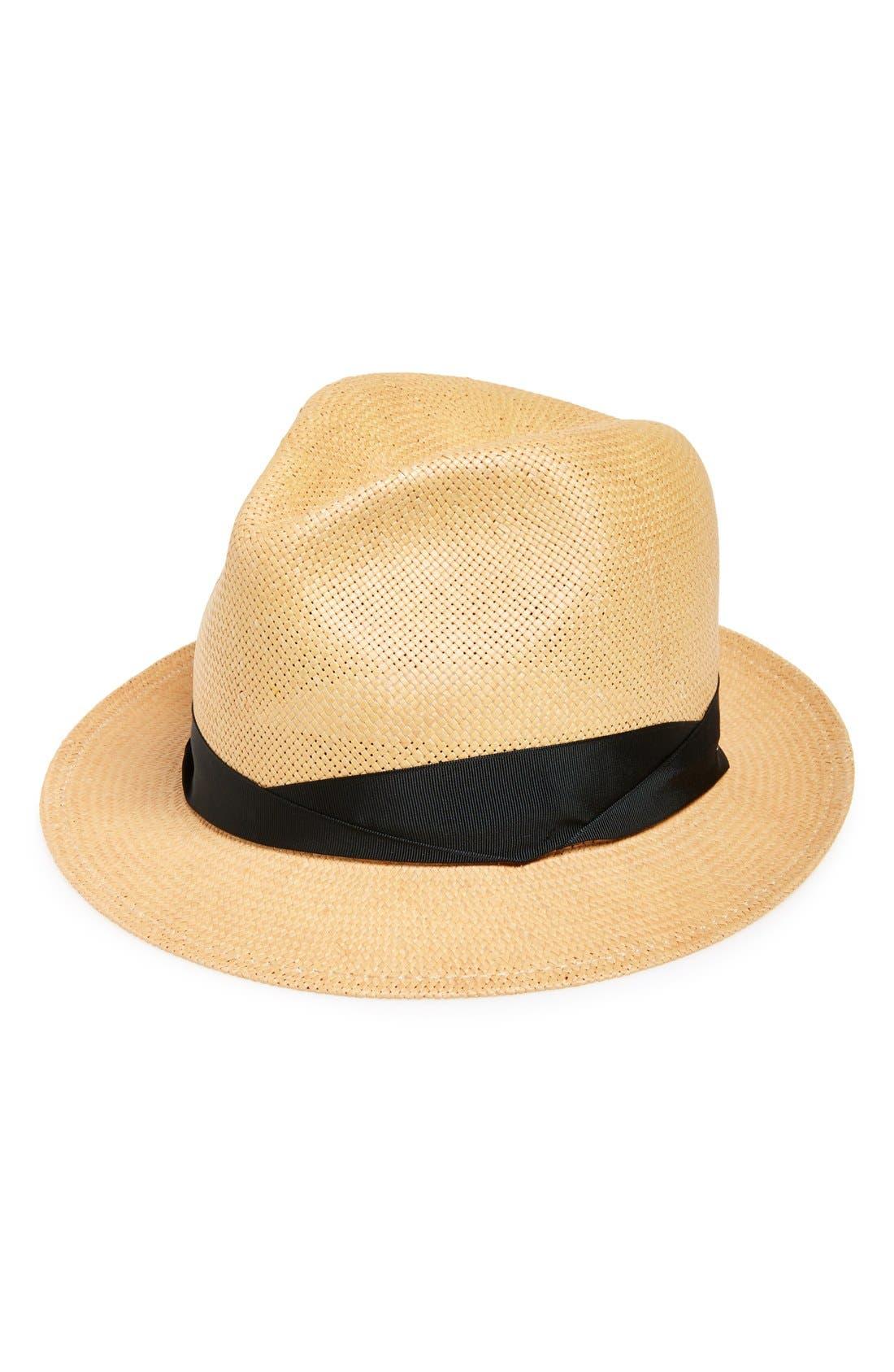 Main Image - rag & bone 'Summer' Straw Fedora