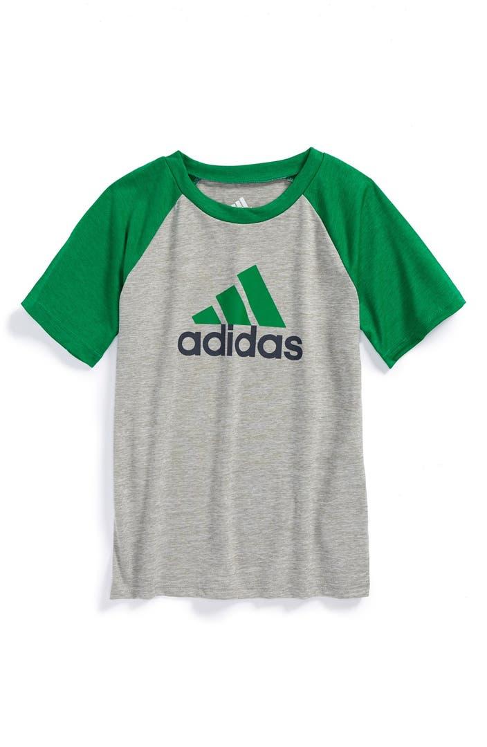 adidas CLIMALITE® Raglan T-Shirt (Toddler Boys & Little ...
