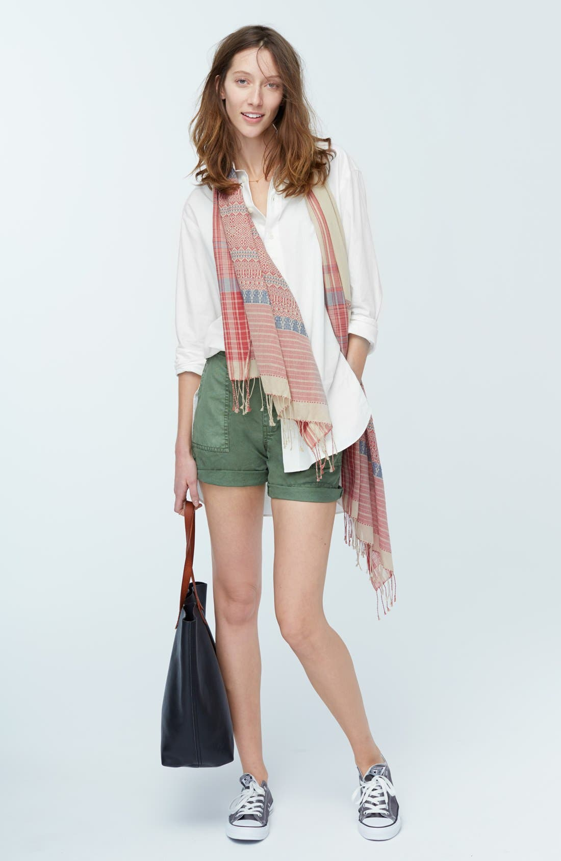 Alternate Image 6  - Madewell Oversized Button Front Tunic