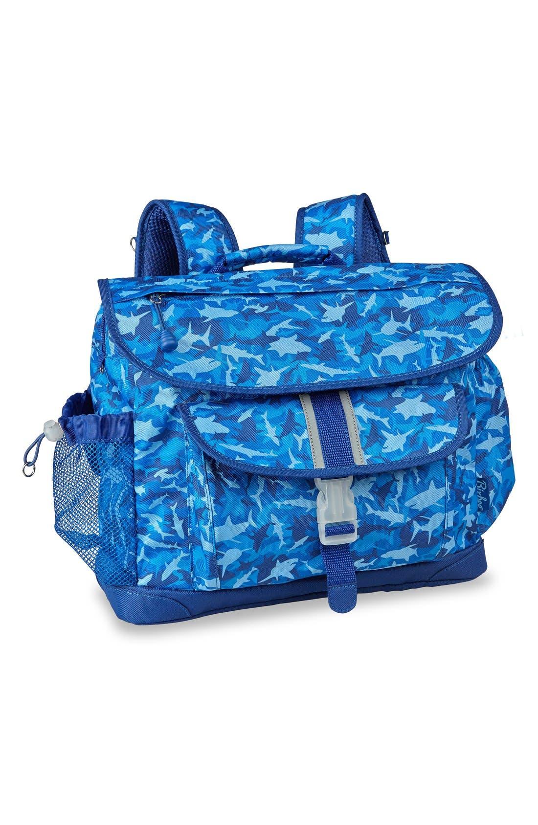 Bixbee 'Large Shark Camo' Water Resistant Backpack (Kids)