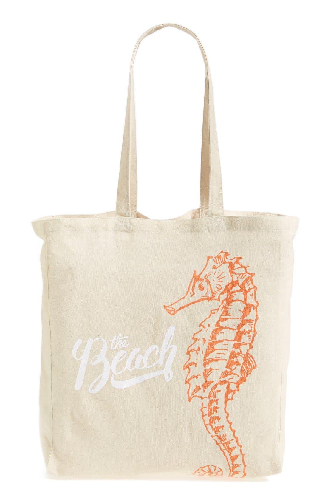Alternate Image 4  - Tri-Coastal Design 'Seahorse Beach' Tote