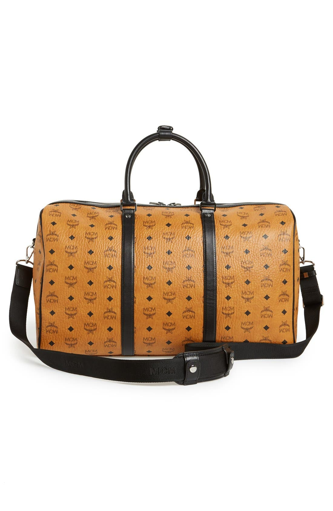 Alternate Image 3  - MCM 'Color Visetos - Large' Weekend Duffel Bag