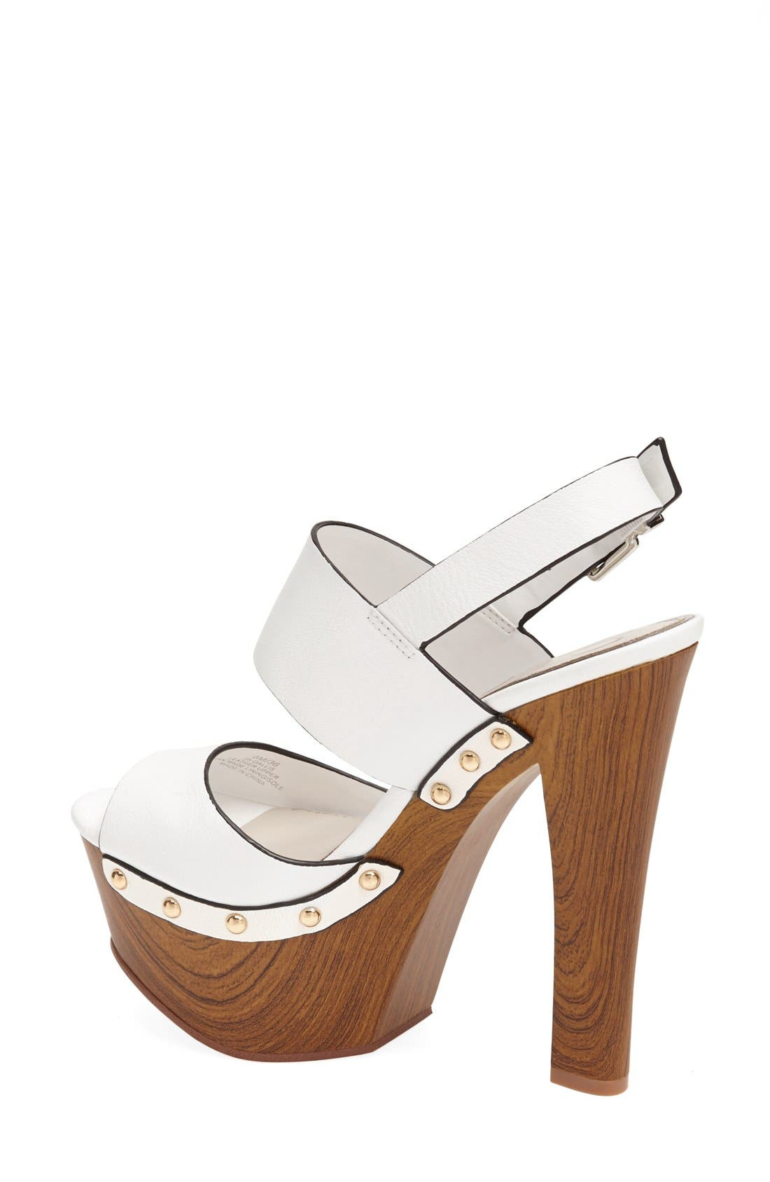 Alternate Image 2  - Jessica Simpson 'Dallis' Platform Sandal (Women)