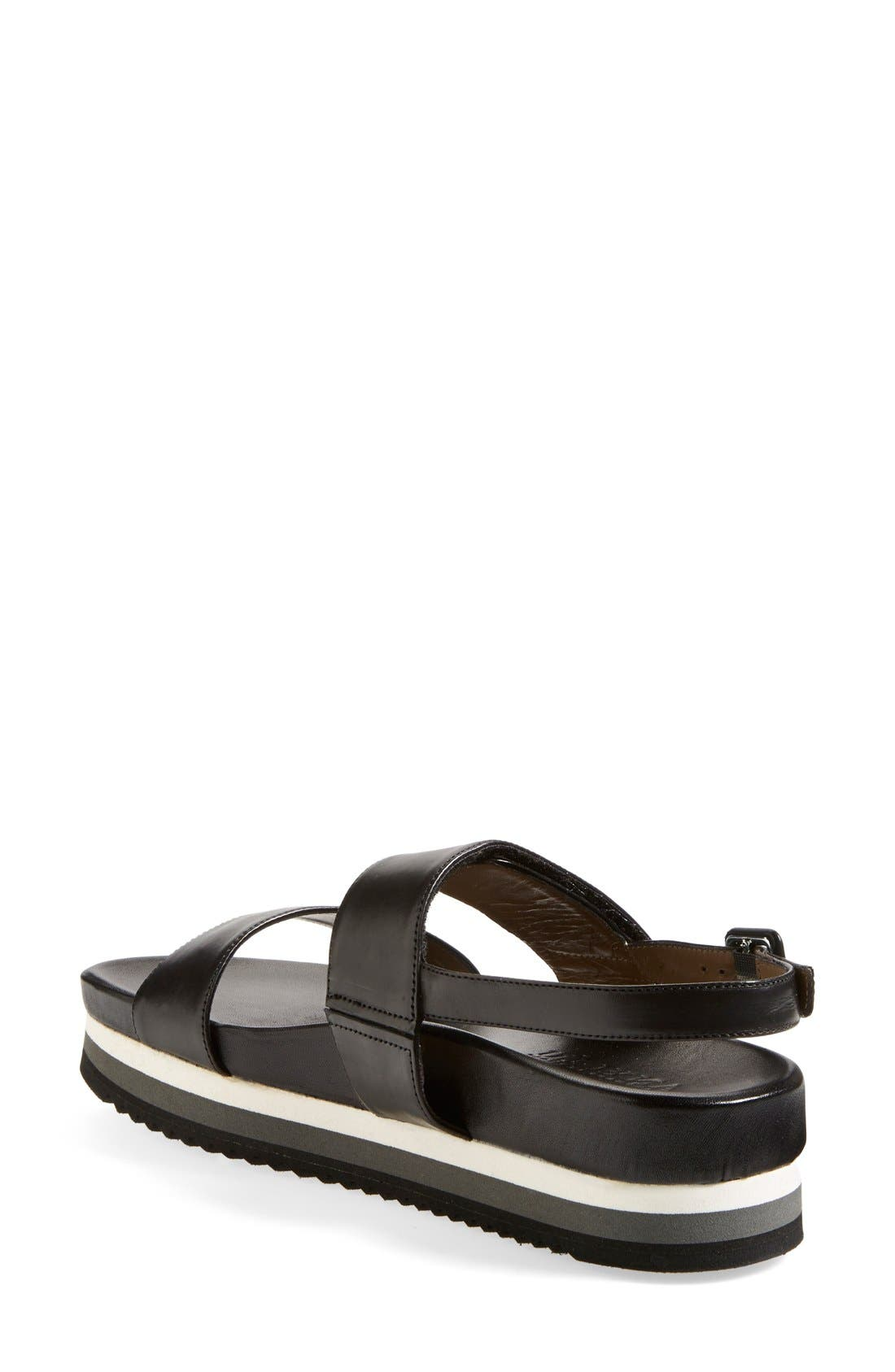 Alternate Image 4  - Anyi Lu 'Viva' Leather Platform Sandal (Women)