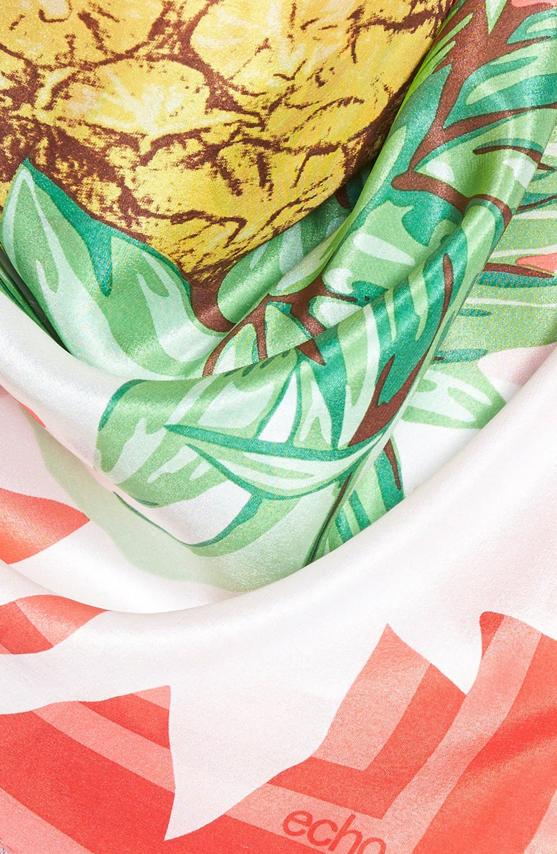 Alternate Image 3  - Echo 'Pineapple Party' Silk Scarf