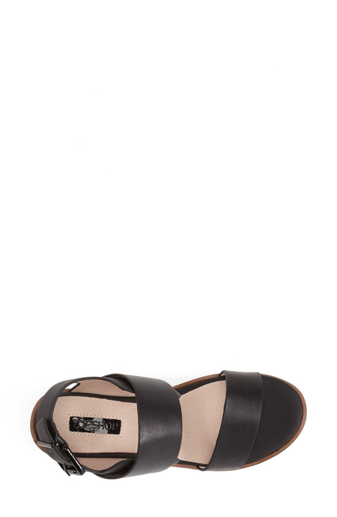 Alternate Image 3  - Topshop 'Ninja' Platform Sandal (Women)