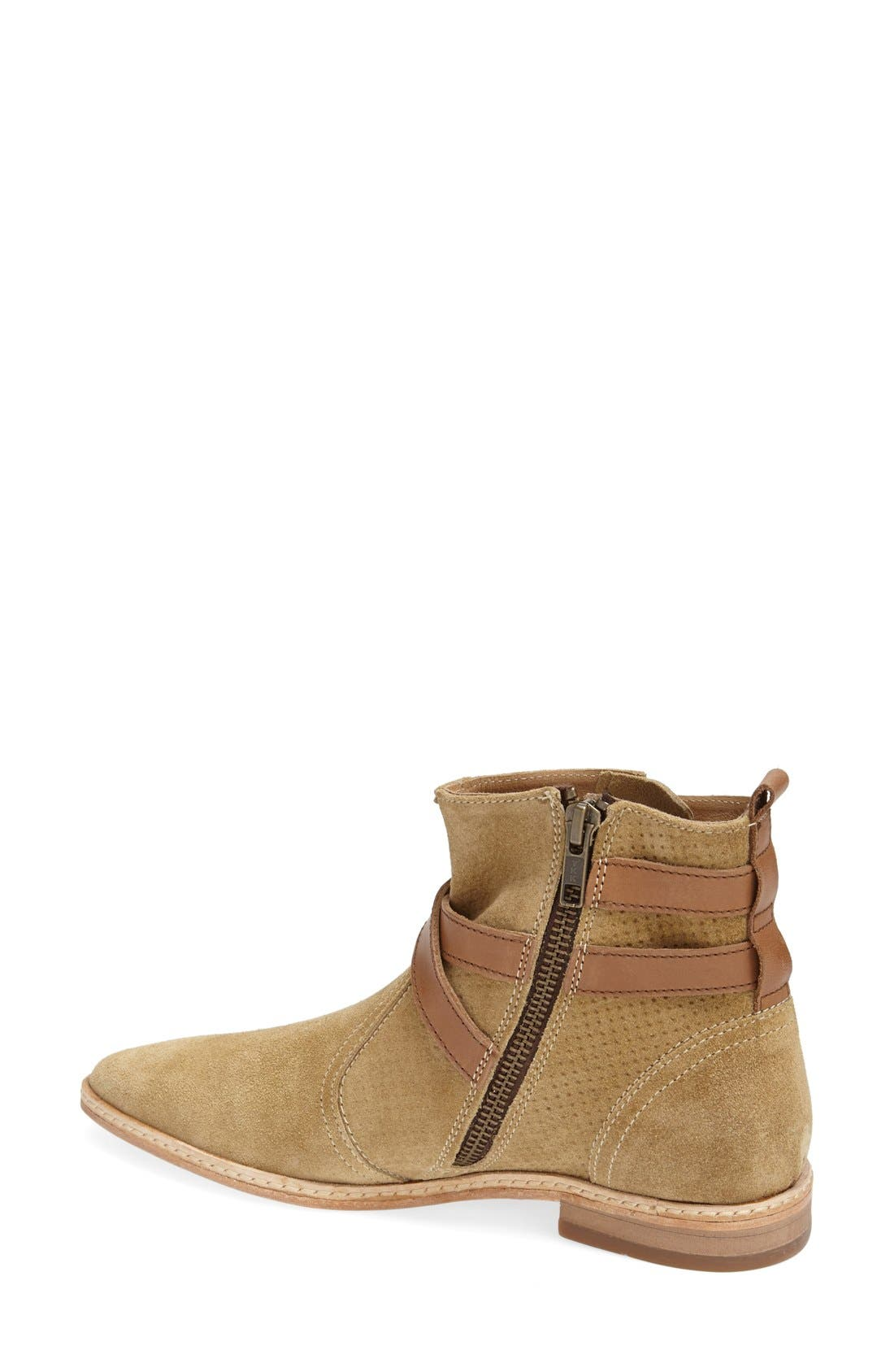 Alternate Image 2  - H by Hudson 'Tab' Suede Chelsea Bootie (Women)