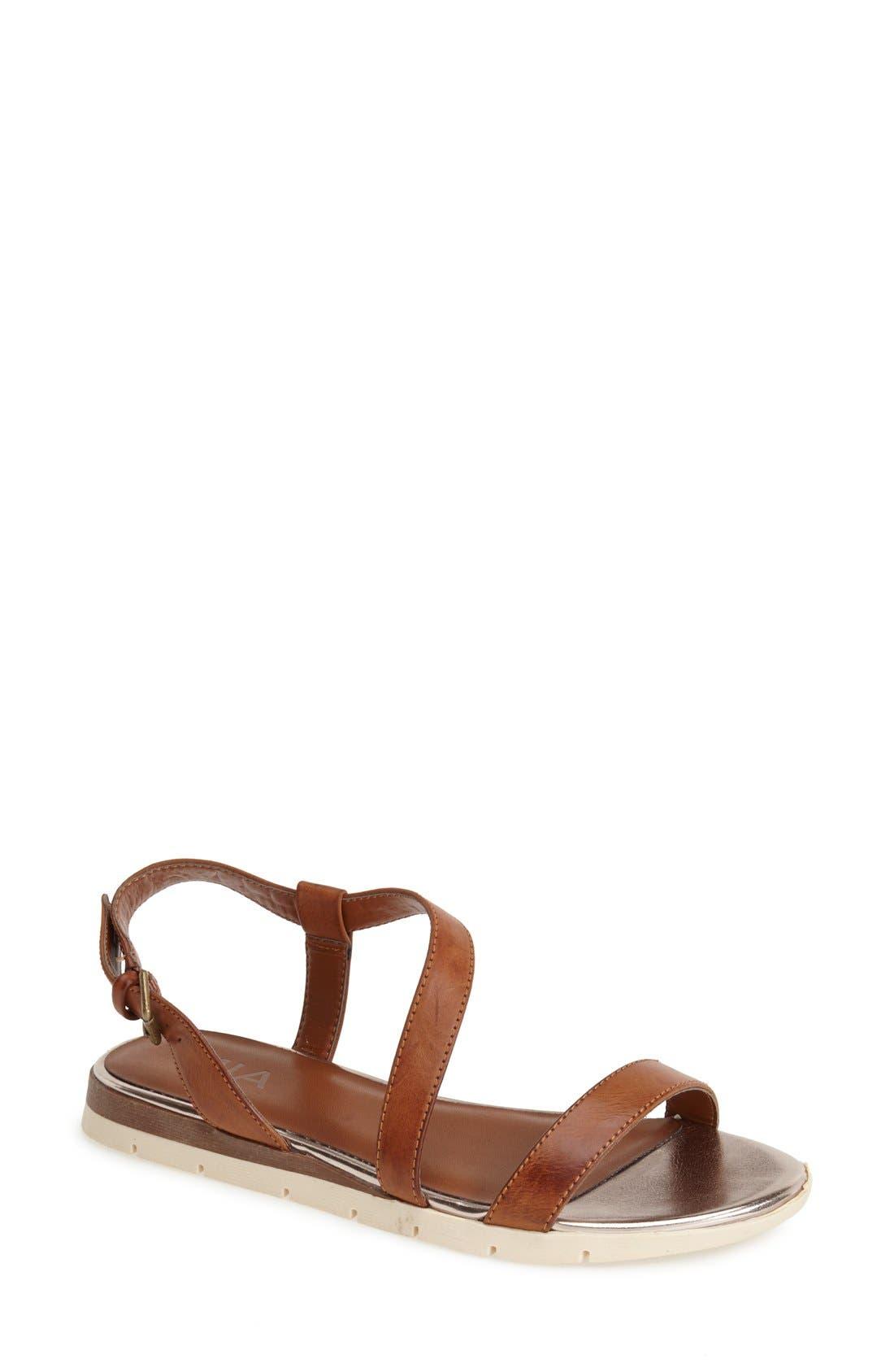 Alternate Image 1 Selected - MIA 'Baseline' Slingback Flat Sandal (Women)