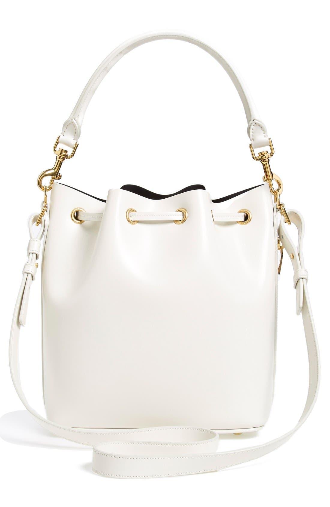 Alternate Image 3  - Saint Laurent Leather Bucket Bag