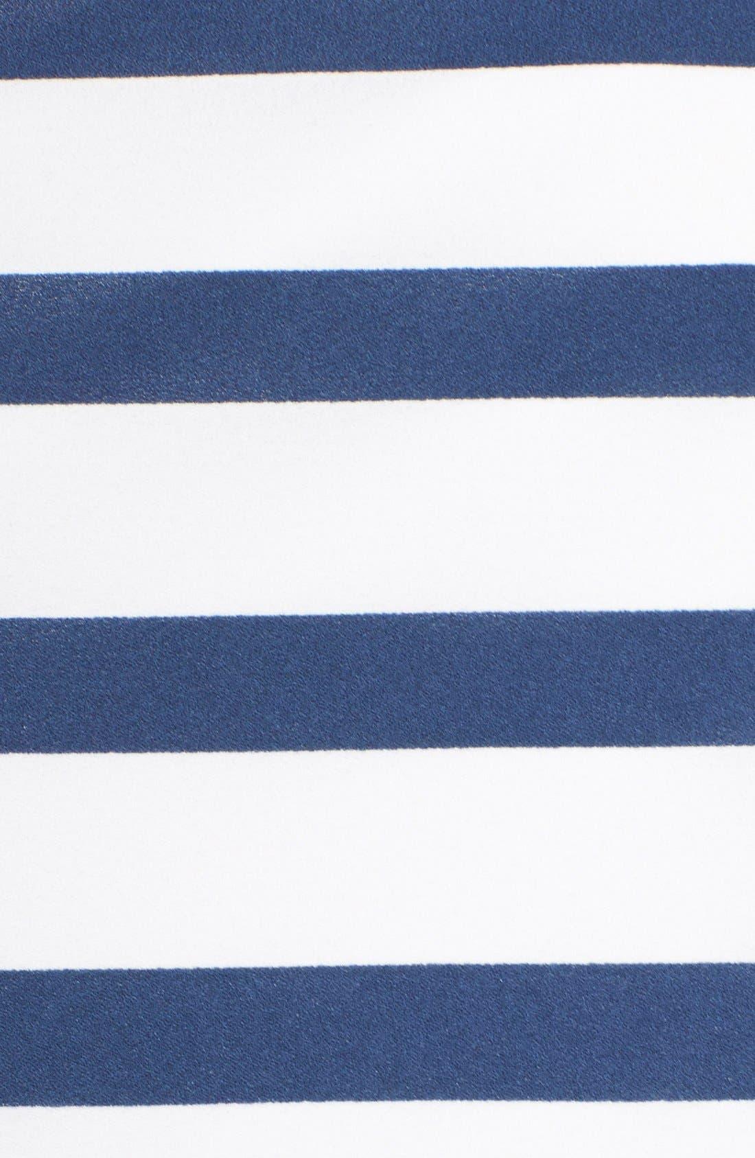 Alternate Image 4  - BB Dakota 'Aleta' Stripe Strapless Fit & Flare Dress