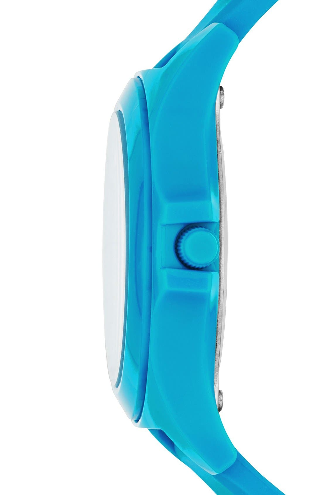 Alternate Image 2  - MARC JACOBS 'Sloane' Silicone Strap Watch, 40mm