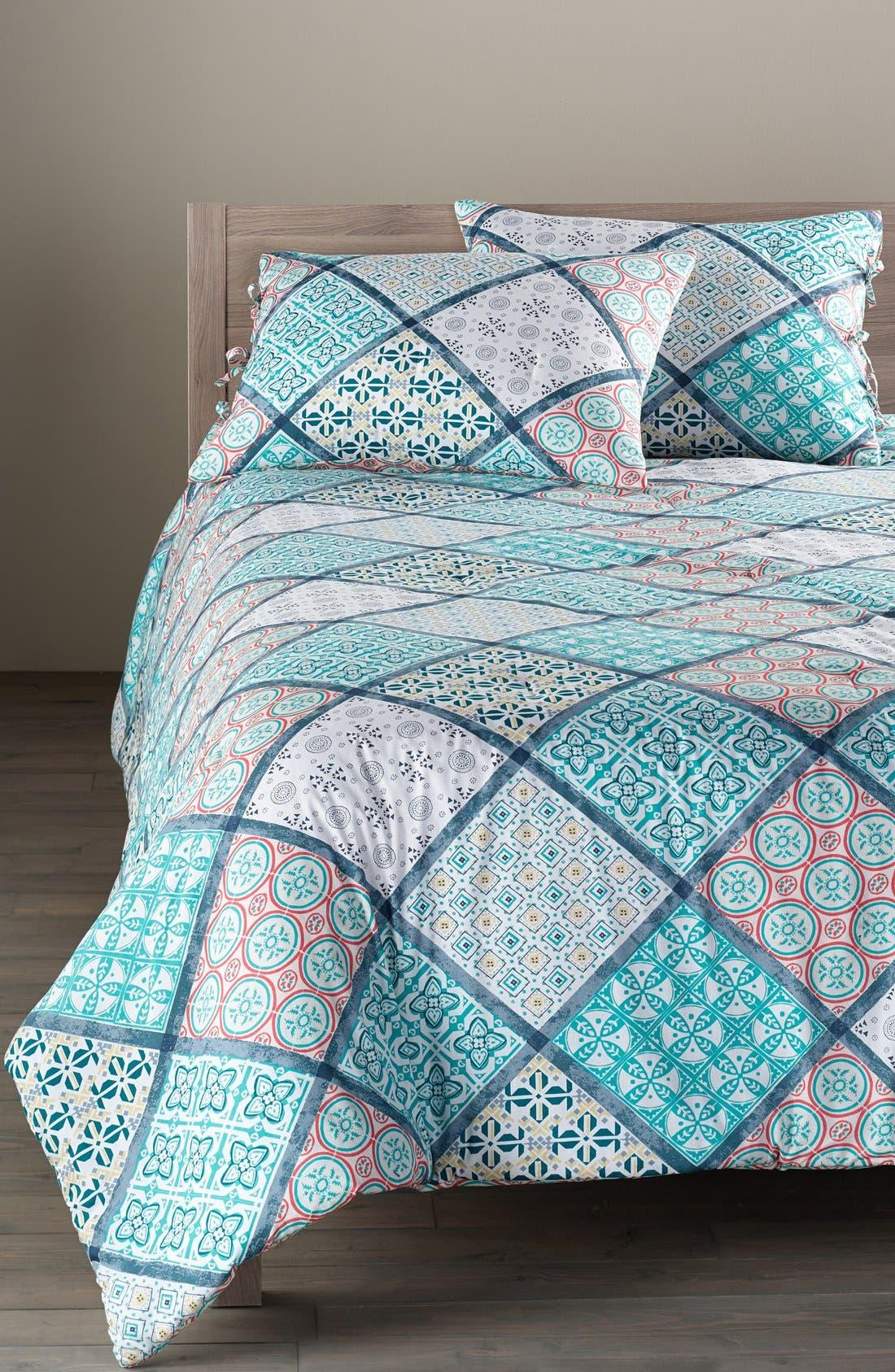 Alternate Image 1 Selected - Nordstrom at Home 'Mediterranean Tiles' Comforter