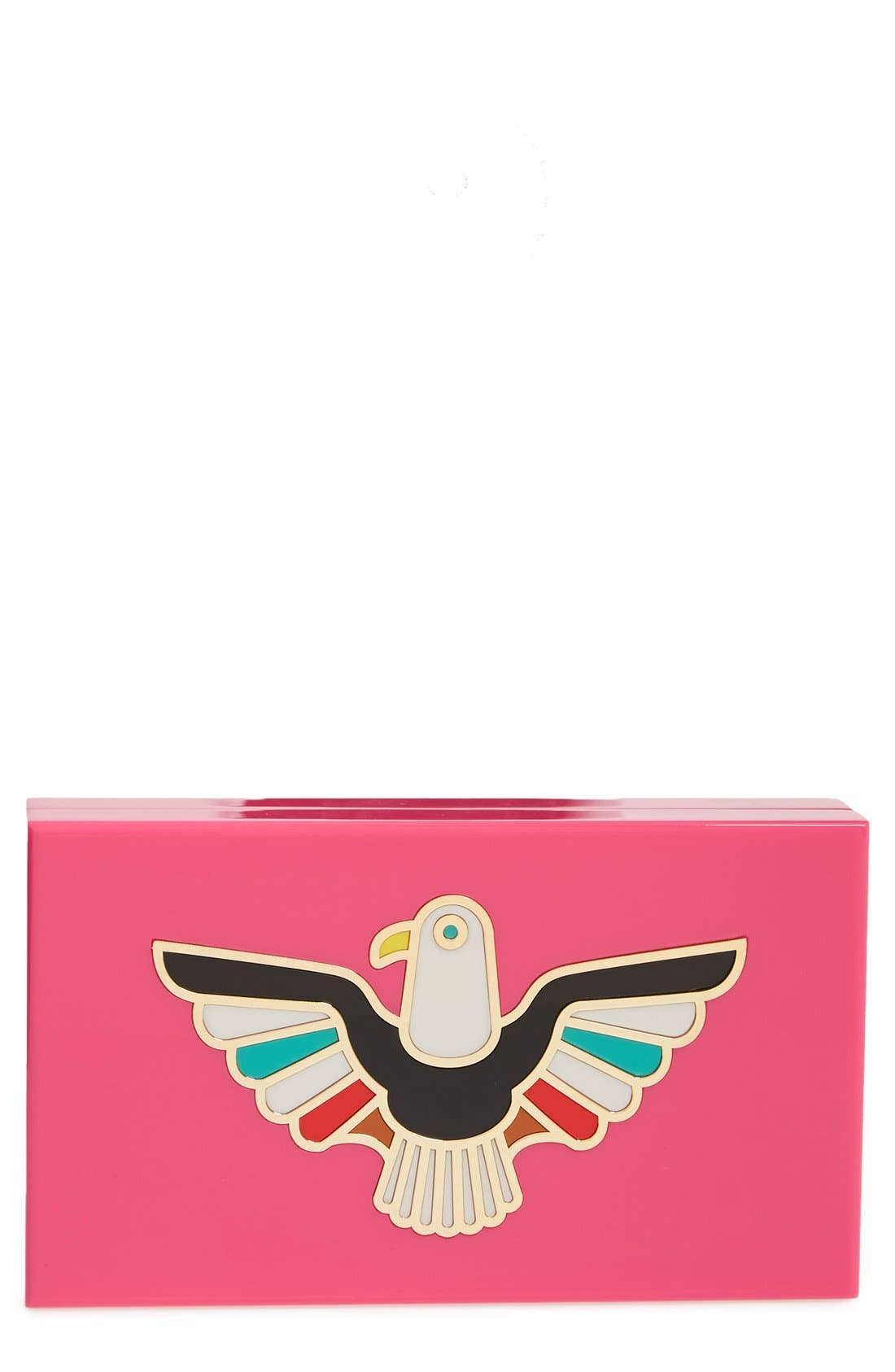 Alternate Image 1 Selected - Charlotte Olympia 'Pandora - Eagle' Box Clutch