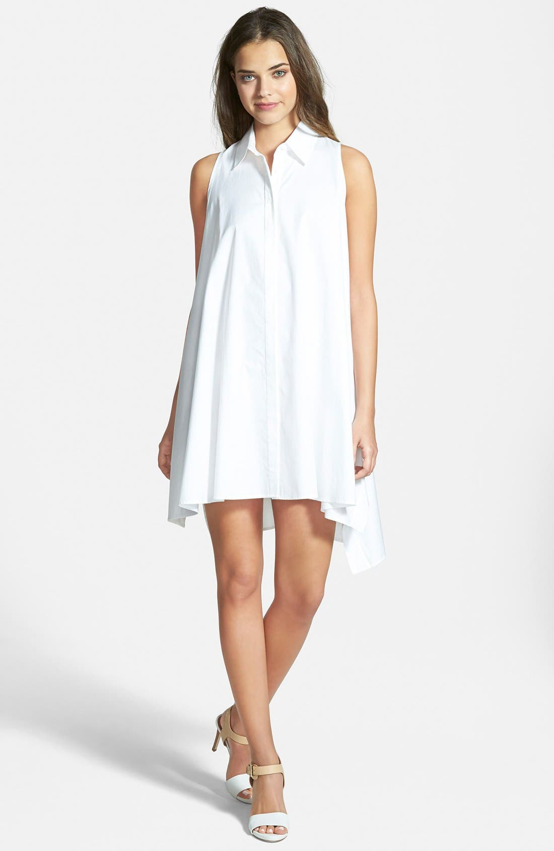 Alternate Image 1 Selected - Rebecca Minkoff 'Miley' Sleeveless Shirtdress