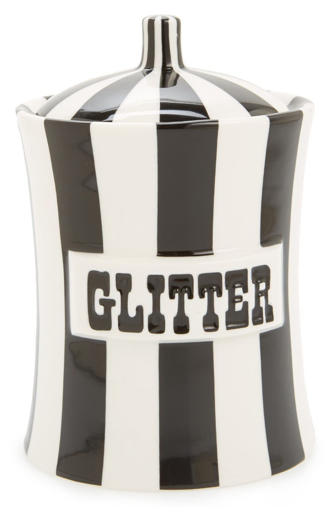 Alternate Image 1 Selected - Jonathan Adler 'Glitter' Porcelain Canister