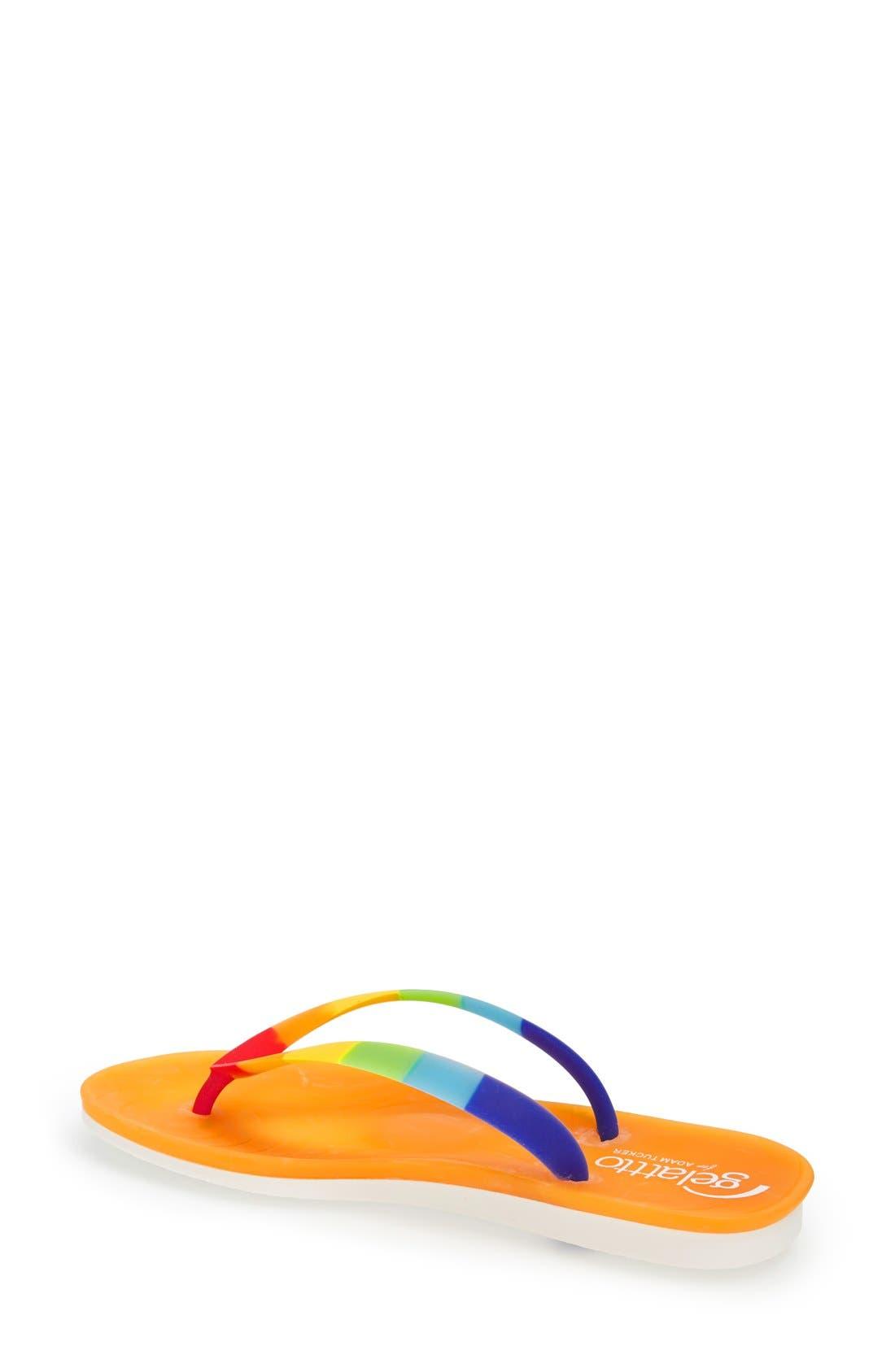 Alternate Image 2  - Gelattto for Adam Tucker 'Carousel' Flip Flop (Women)