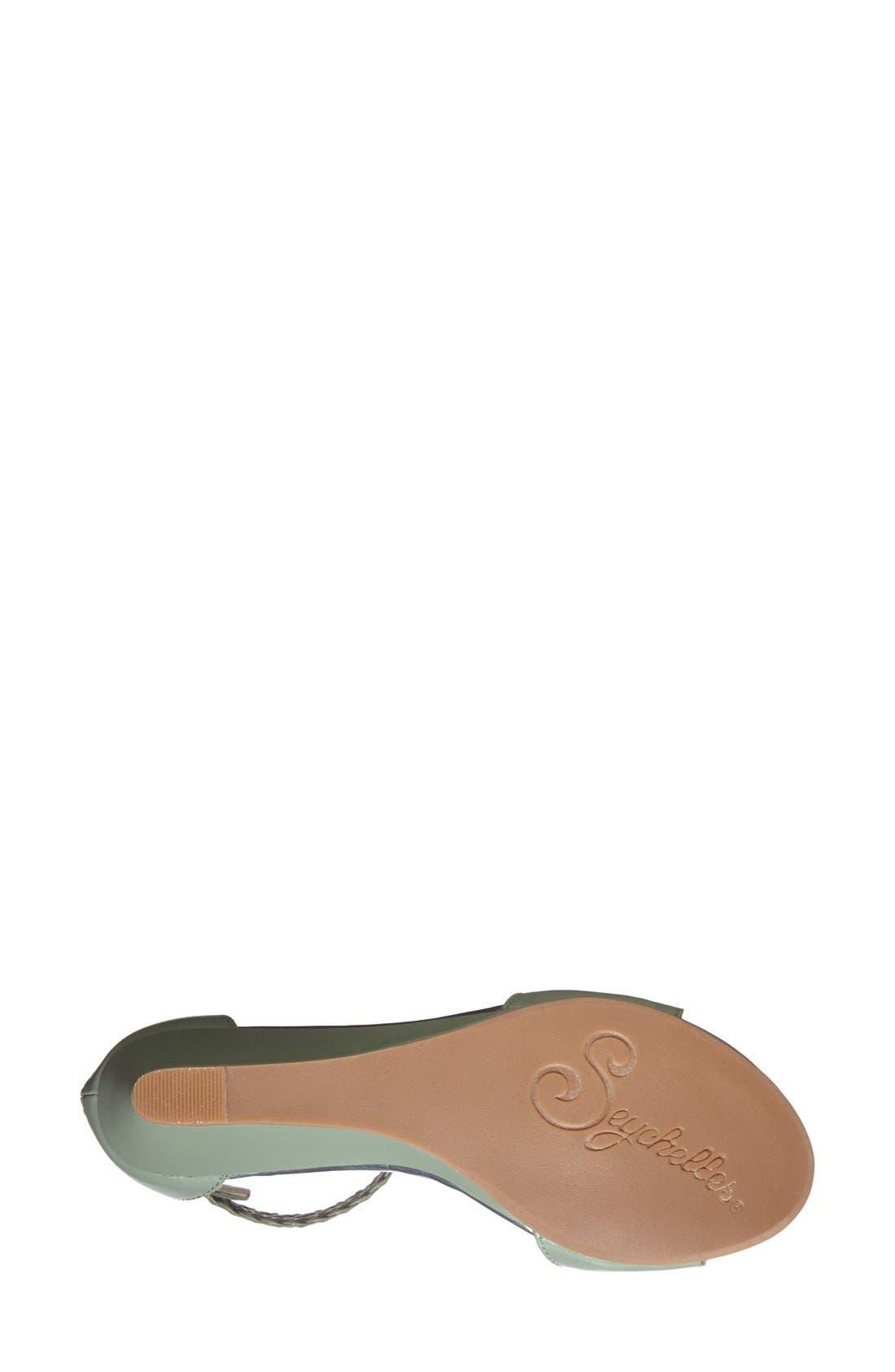 Alternate Image 4  - Seychelles 'Spelling Bee' Leather Ankle Cuff Wedge Sandal (Women)