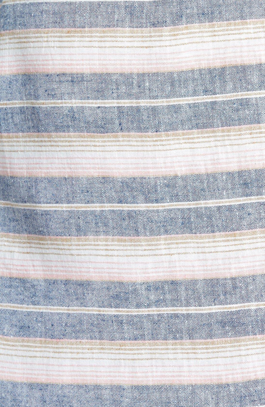 Alternate Image 3  - Hinge Stripe Skirt