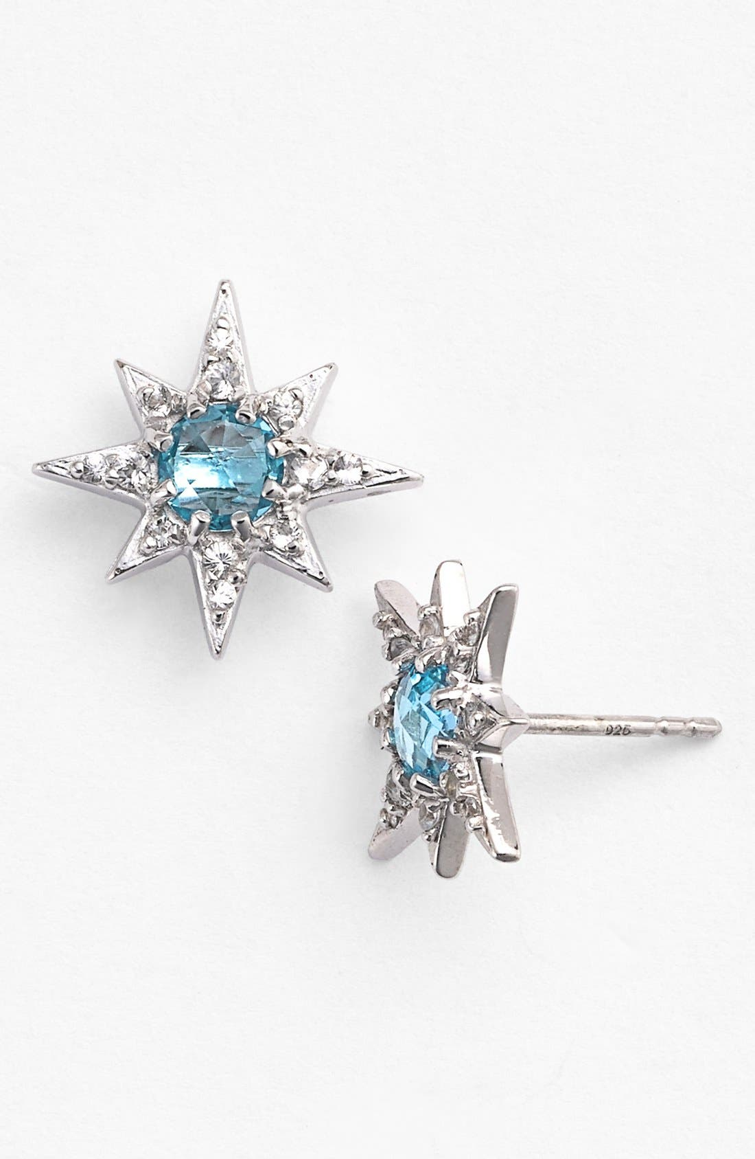 Alternate Image 1 Selected - Anzie 'Aztec' Starburst Stud Earrings