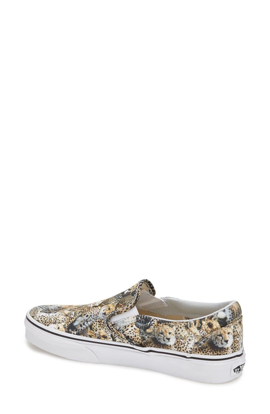 Alternate Image 2  - Vans 'Classic - Kenya' Slip-On Sneaker (Women)