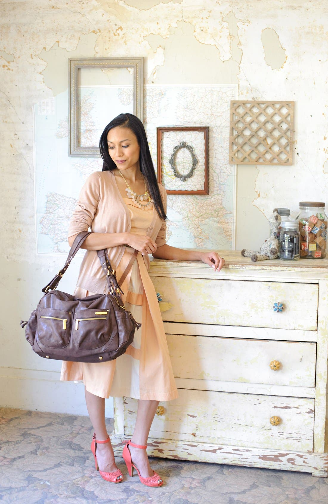 Alternate Image 6  - Timi & Leslie 'Jessica' Diaper Bag