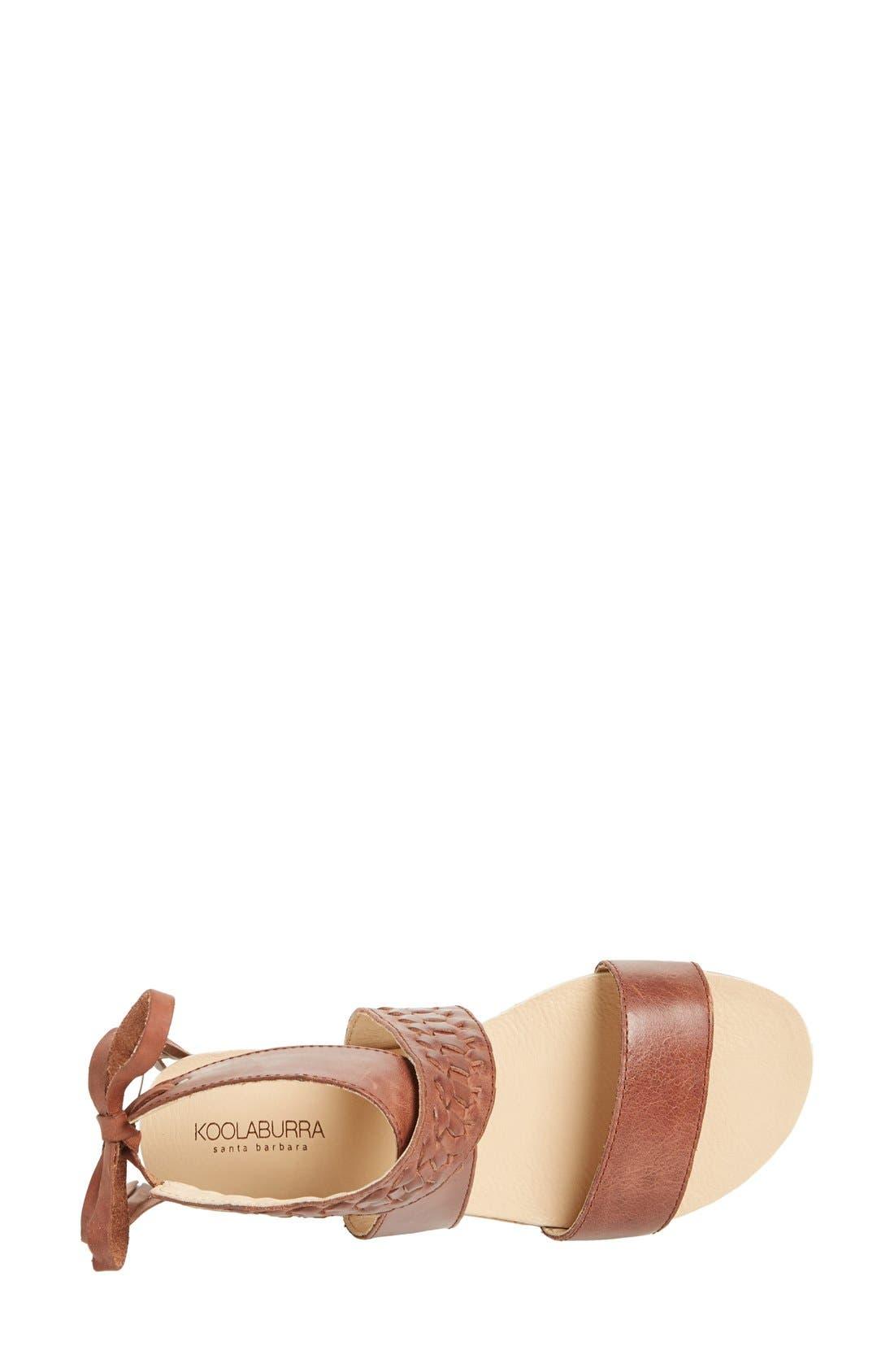 Alternate Image 3  - Koolaburra 'Alexa' Leather Ankle Strap Sandal (Women)