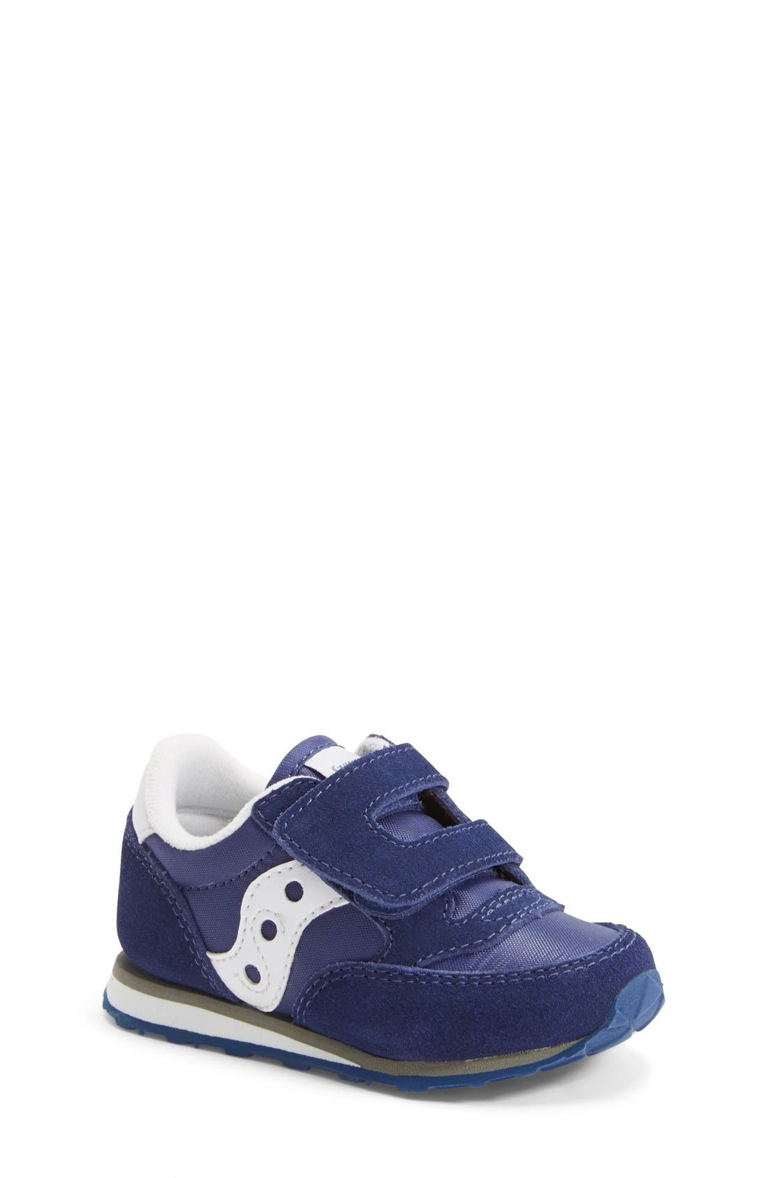 Saucony 'Jazz' Hook & Loop Sneaker (Baby, Walker & Toddler)
