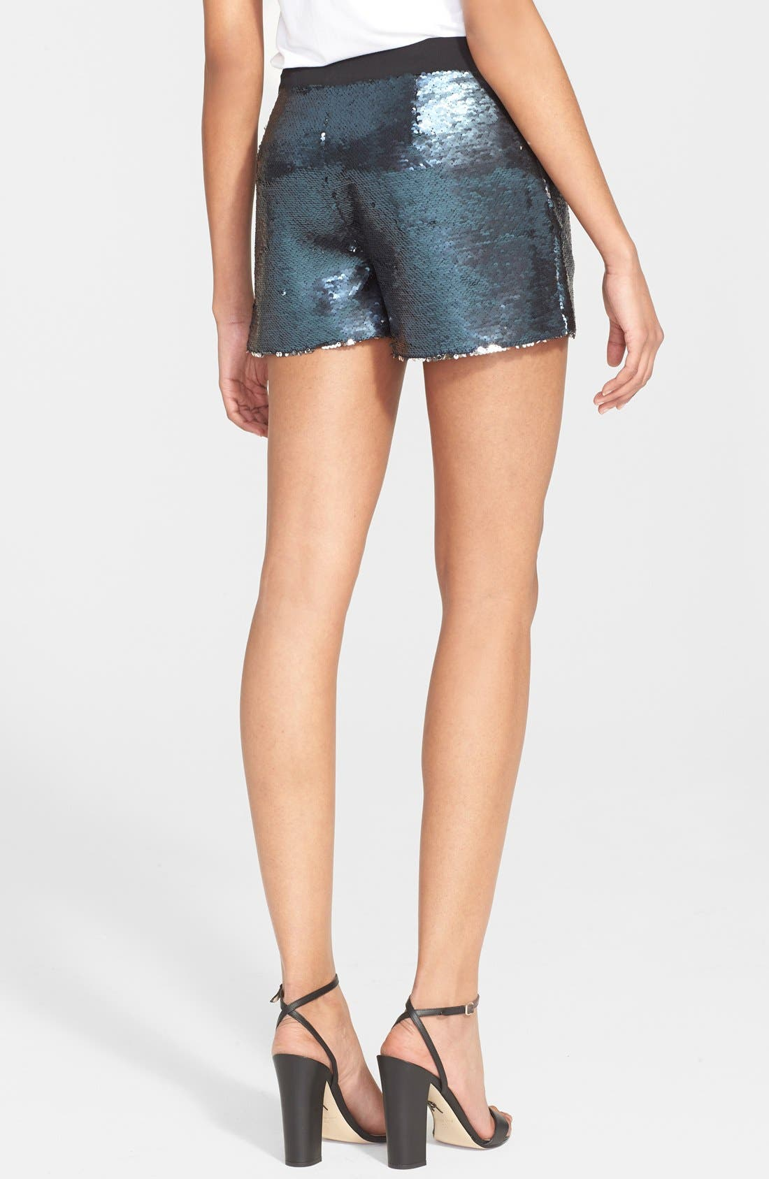 Alternate Image 2  - Ted Baker London 'Laxton' Sequin Shorts