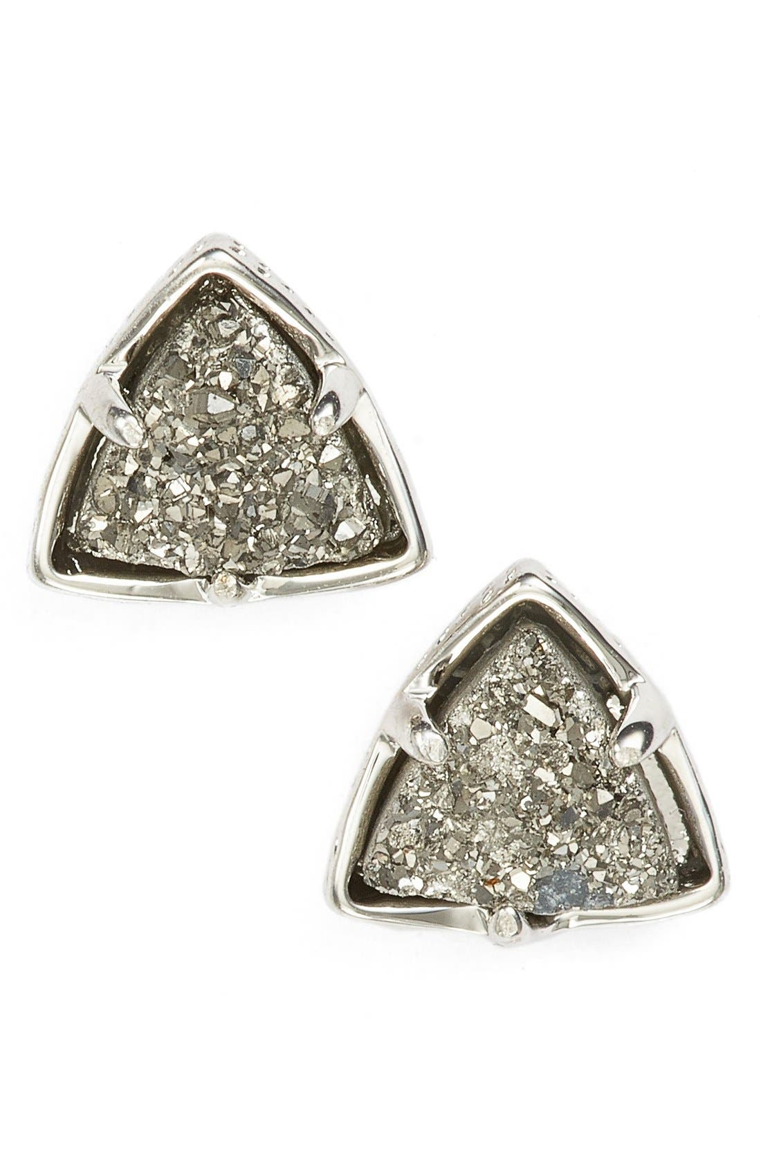 Alternate Image 1 Selected - Kendra Scott 'Parker' Drusy Stud Earrings
