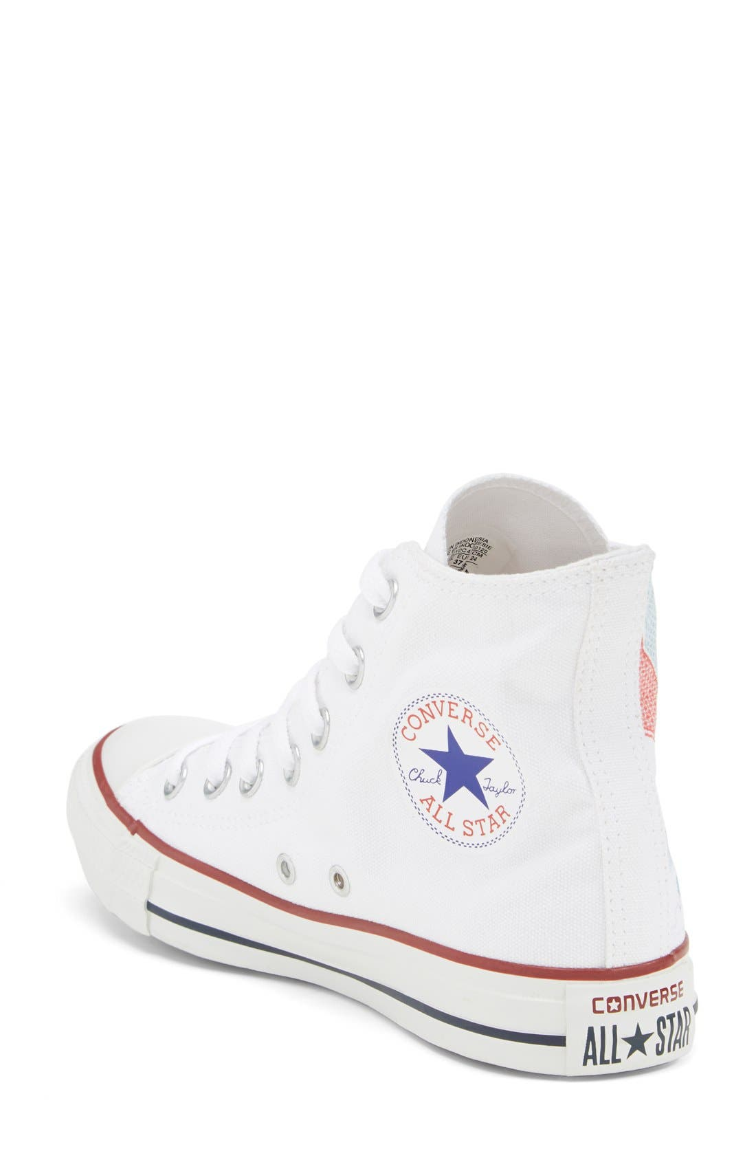 Alternate Image 2  - Converse Chuck Taylor® All Star® 'Made By You - Los Angeles' High Top Sneaker (Women)