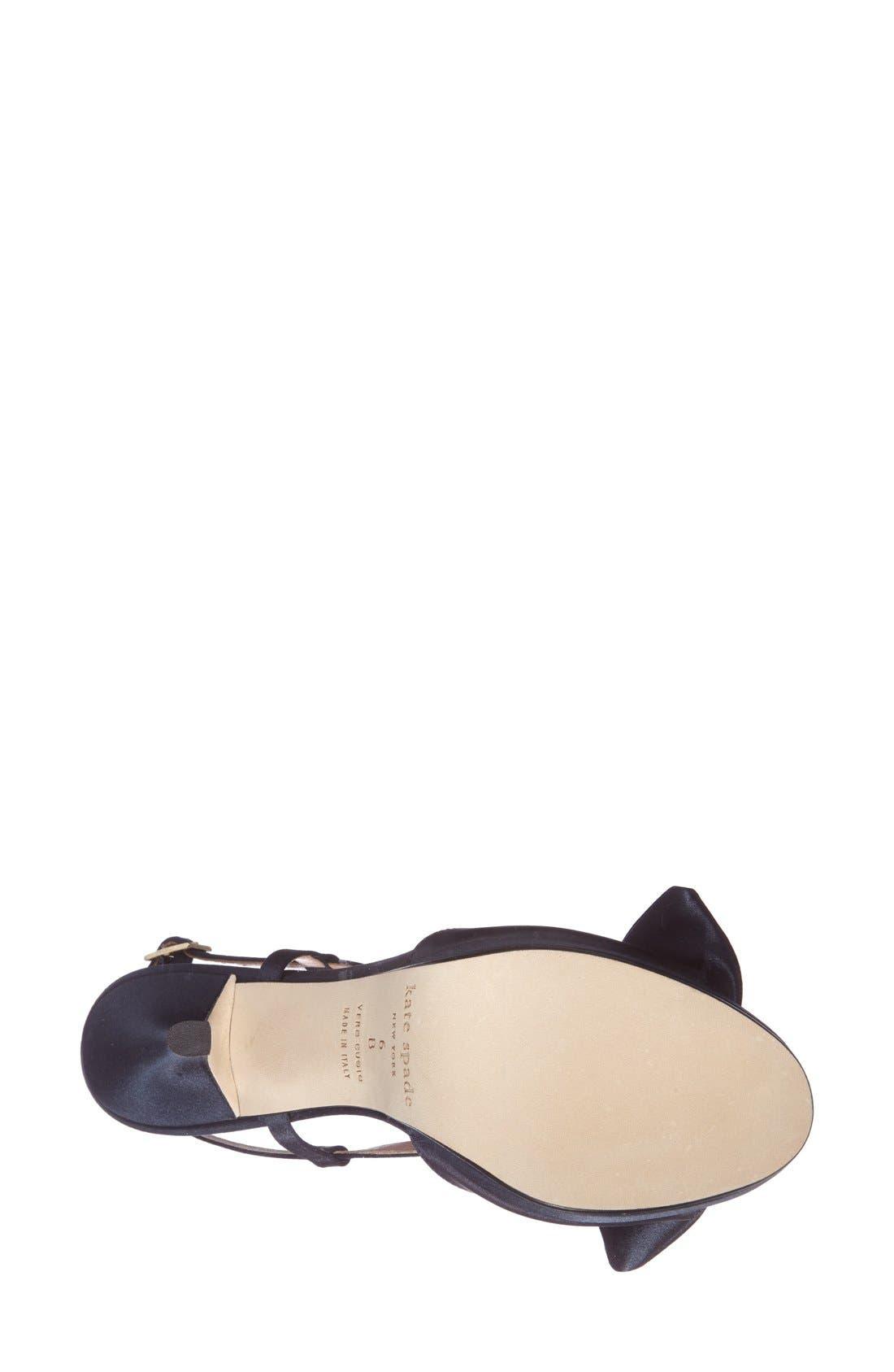 Alternate Image 4  - kate spade new york 'rezza' platform sandal (Women)