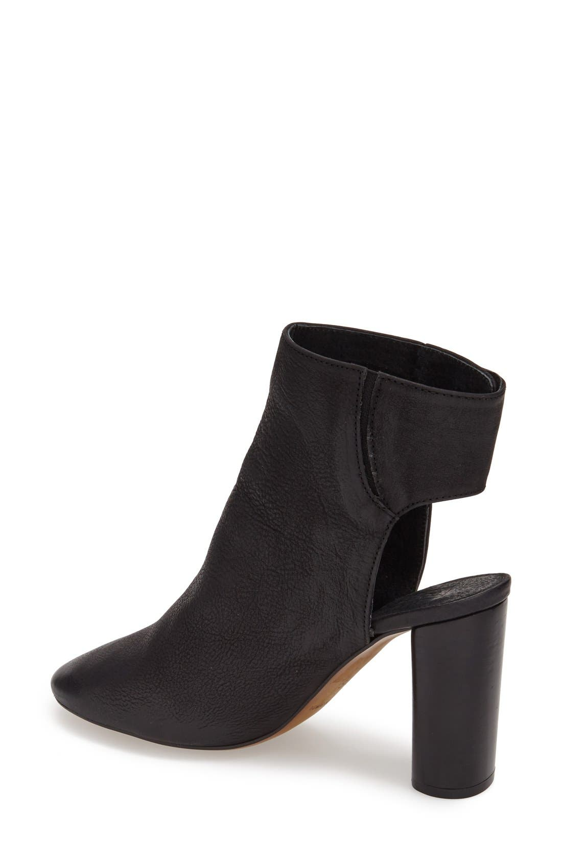 Alternate Image 2  - Topshop 'Maid' Leather Ankle Boot (Women)