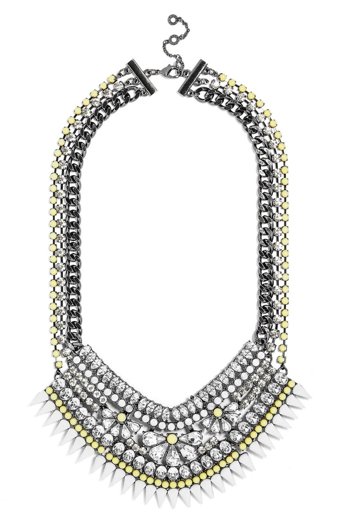Main Image - BaubleBar 'Spike Hover' Bib Necklace