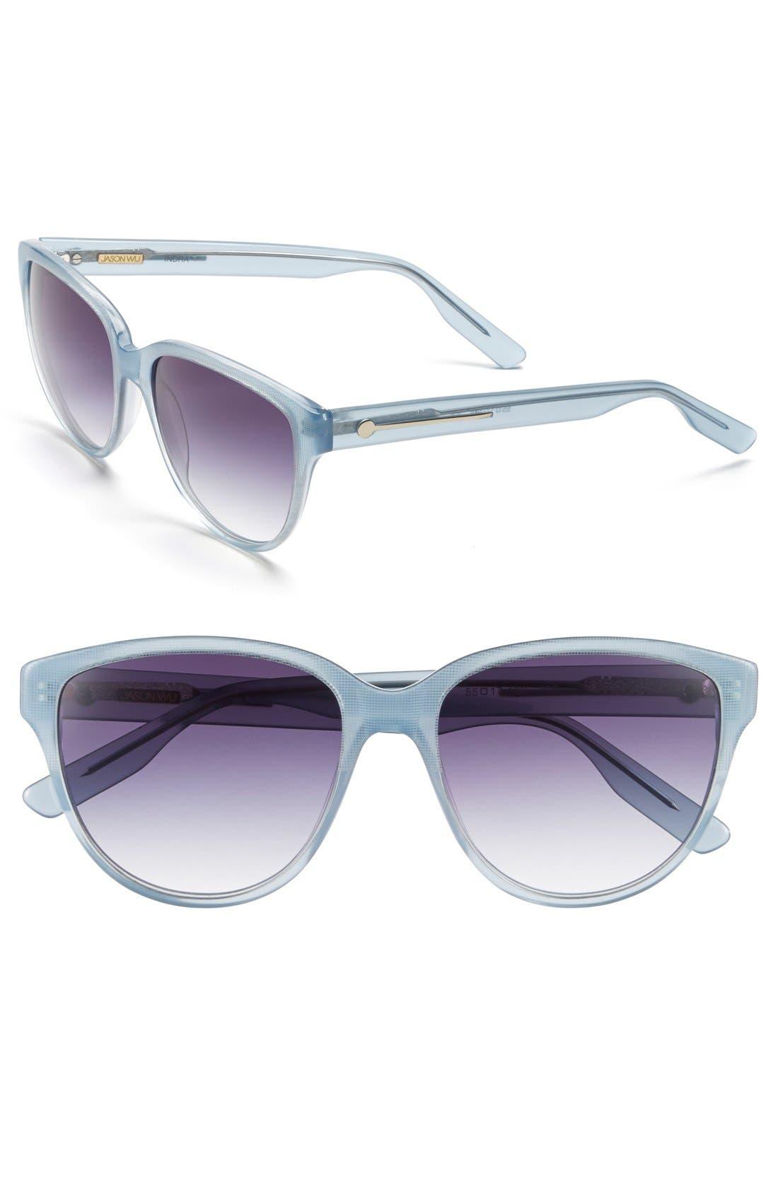 Alternate Image 1 Selected - Jason Wu 'Indra' 55mm Sunglasses