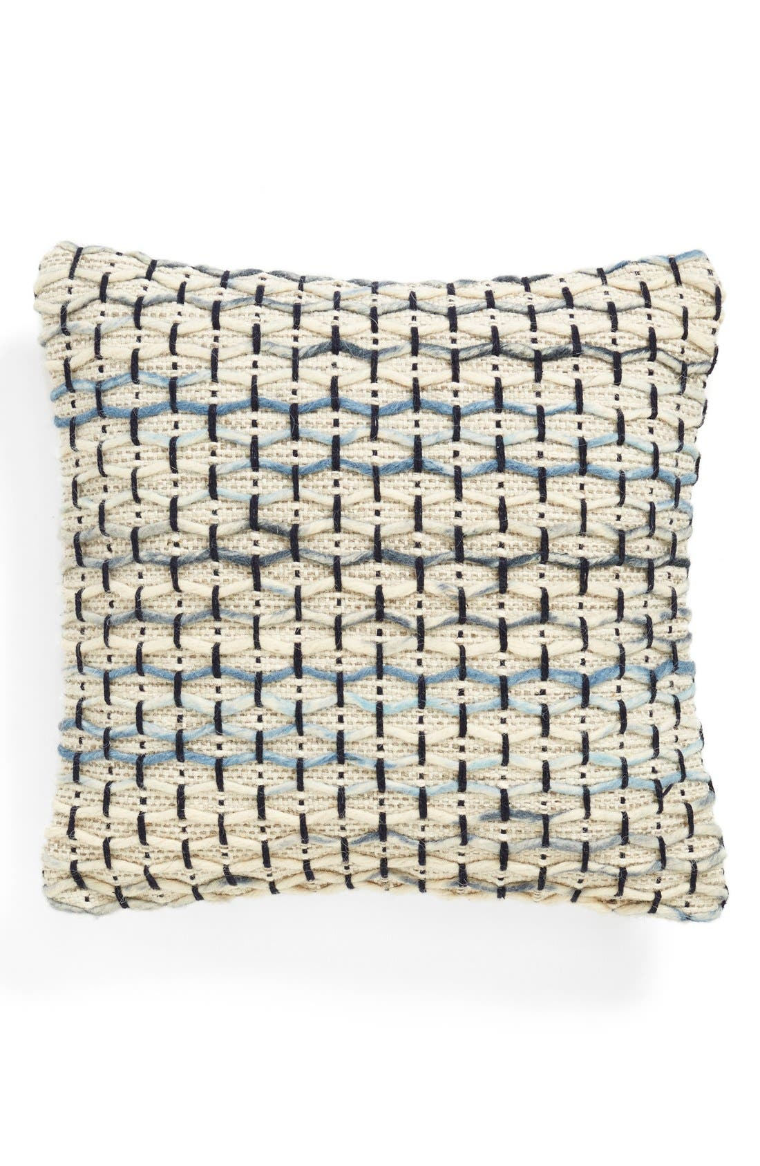Alternate Image 1 Selected - Brentwood Originals 'Knitted Lines' Jute Accent Pillow