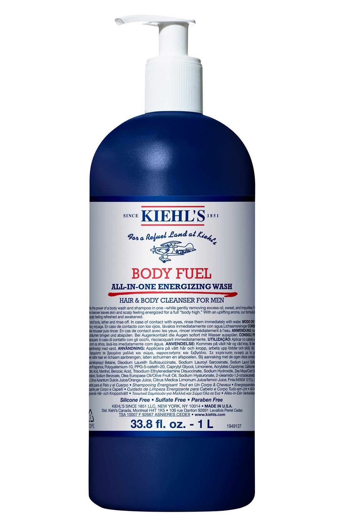 Kiehl's Since 1851 'Body Fuel' All-in-One Energizing & Conditioning Wash