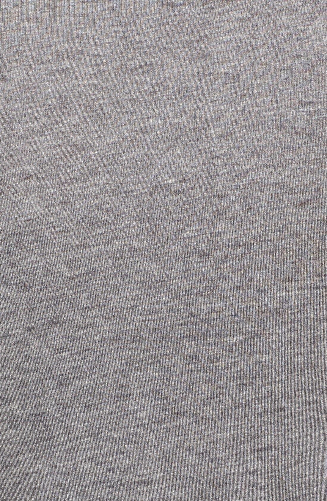 Alternate Image 3  - Red Jacket Trim Fit V-Neck T-Shirt