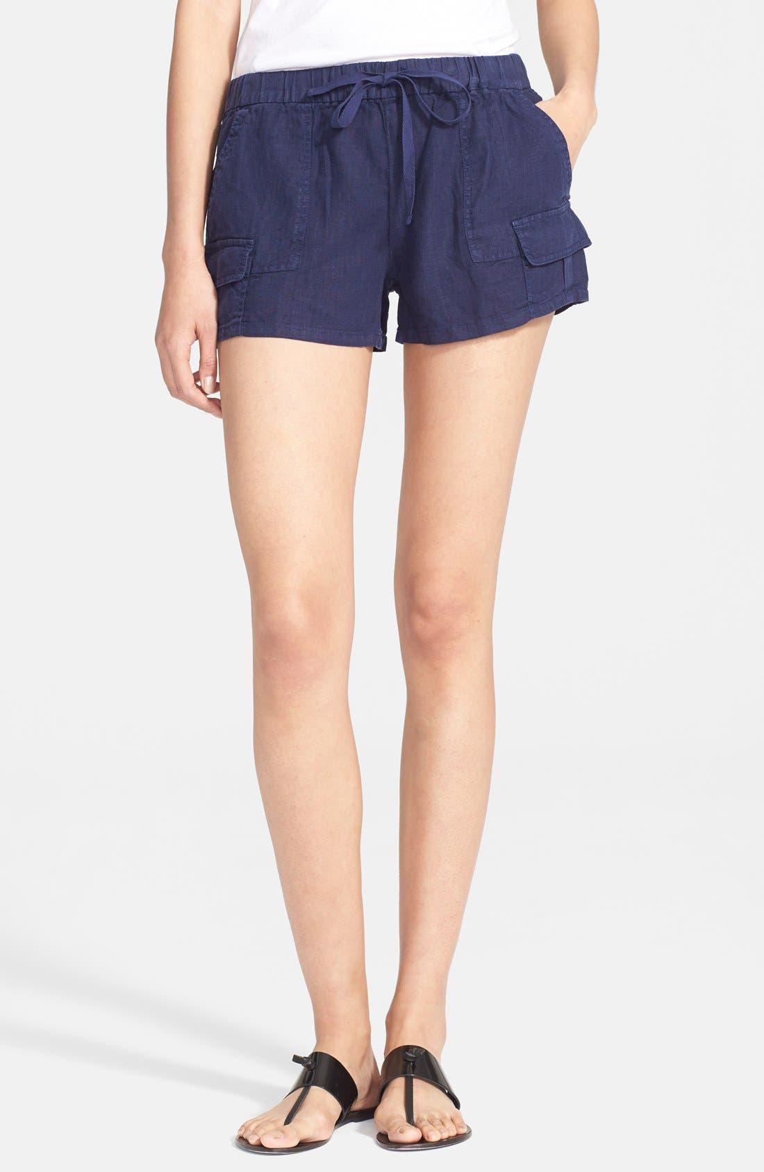 JOIE Ilya Linen Cargo Shorts