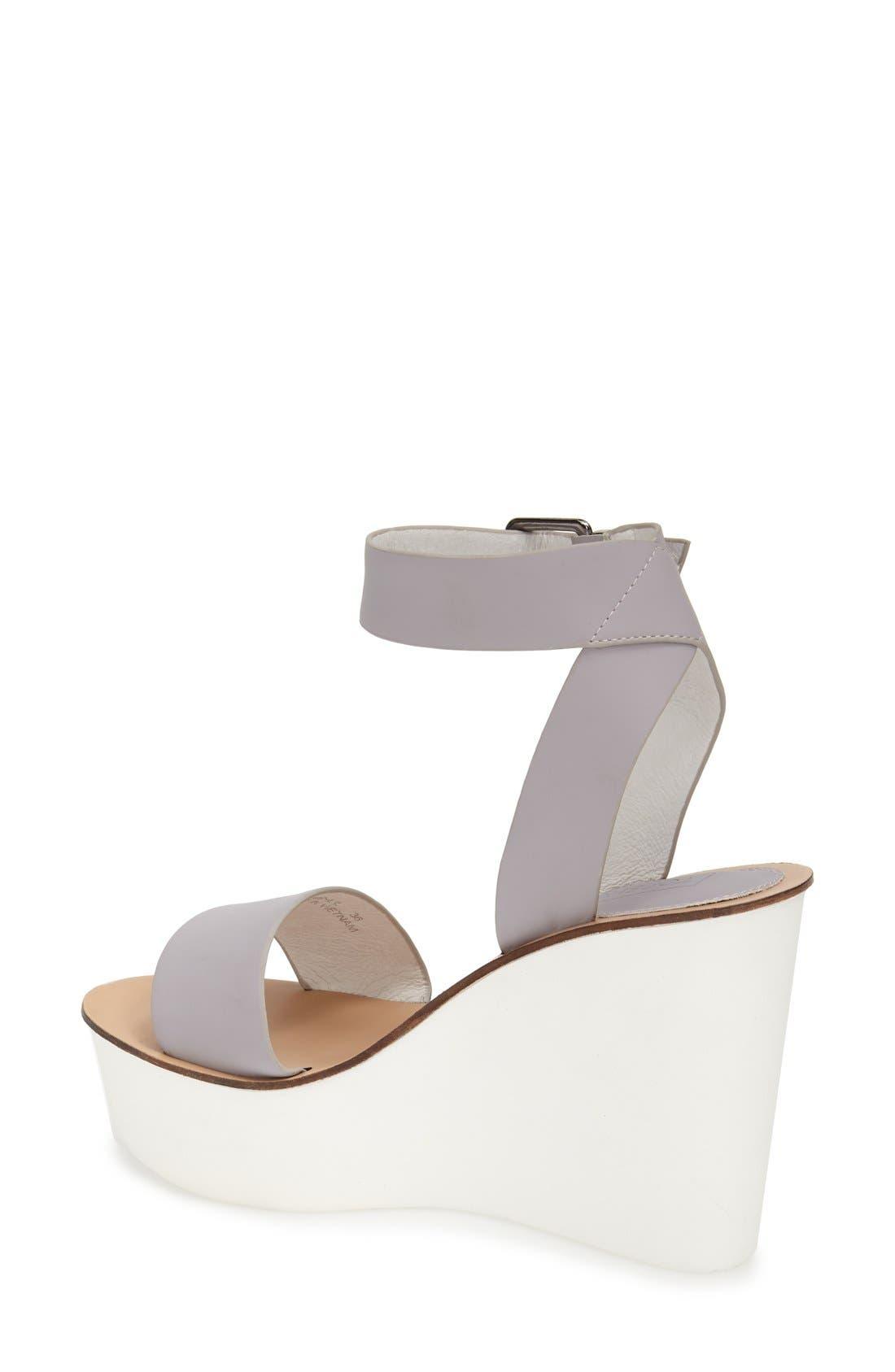 Alternate Image 2  - Topshop 'Waffle' Platform Wedge Sandal (Women)
