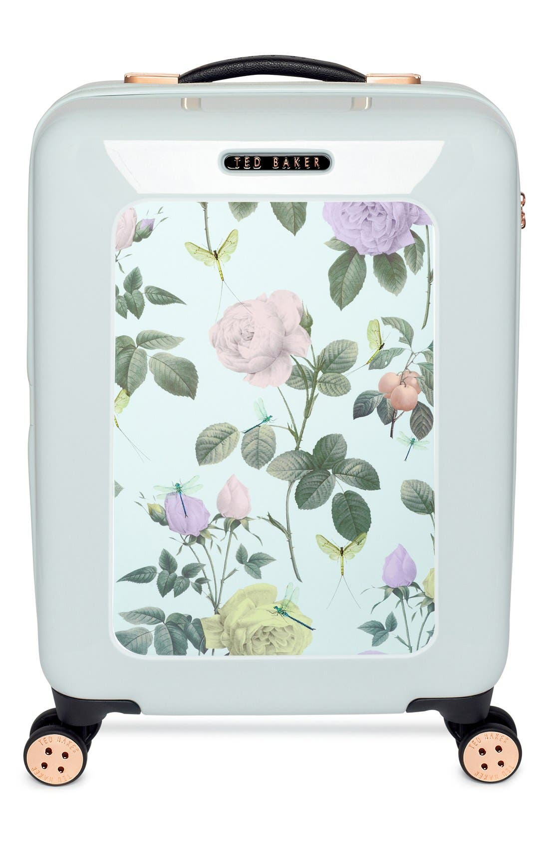 Alternate Image 2  - Ted Baker London 'Small Rose' Hard Shell Suitcase (22 Inch)