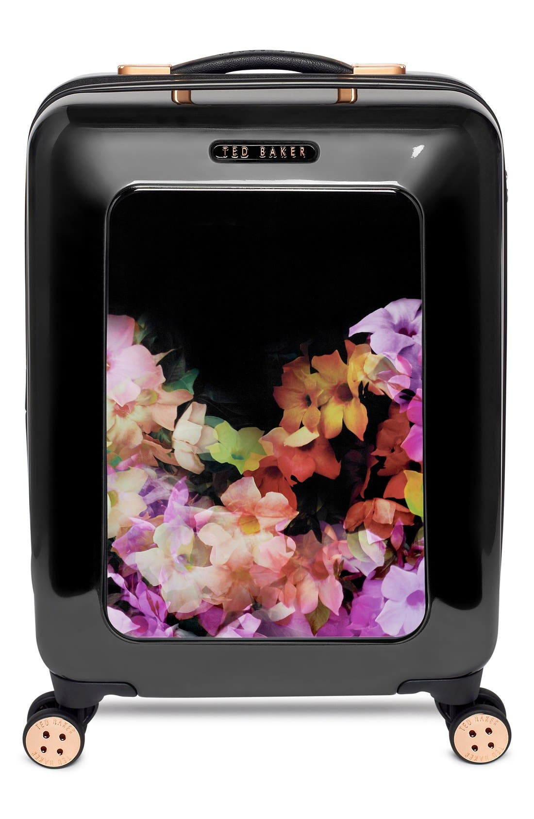 Alternate Image 2  - Ted Baker London 'Small Cascade Floral' Hard Shell Suitcase (22 Inch)